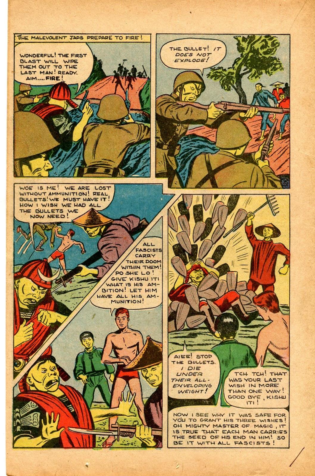 Read online Super-Magician Comics comic -  Issue #33 - 24