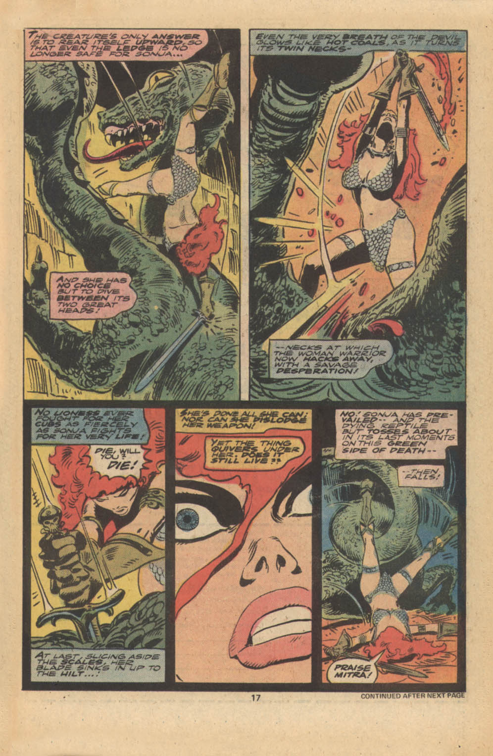 Red Sonja (1977) issue 5 - Page 12