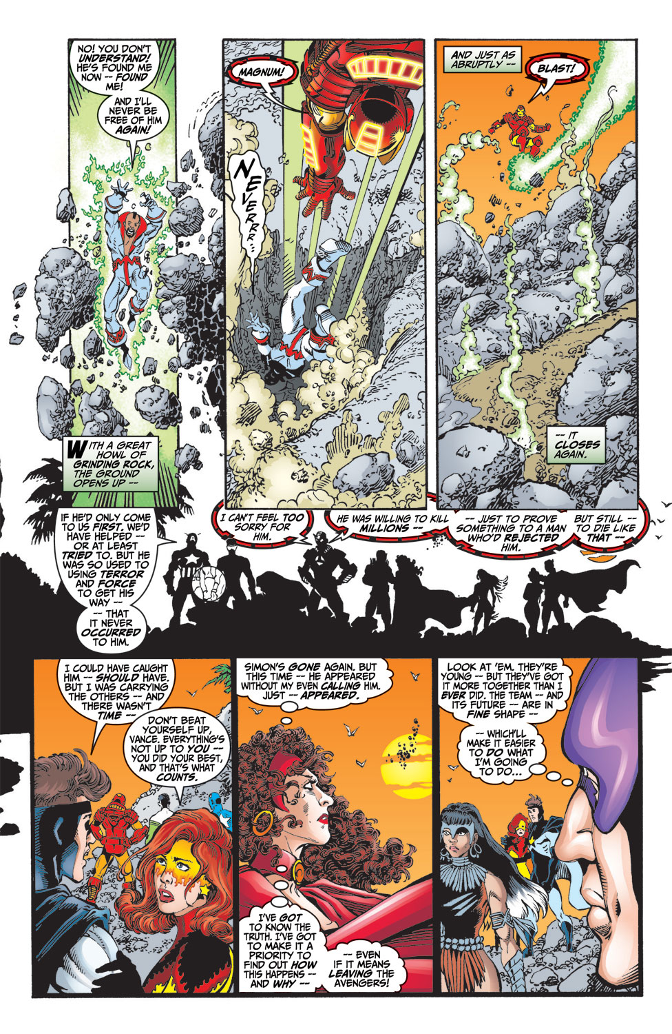 Read online Avengers (1998) comic -  Issue #9 - 21