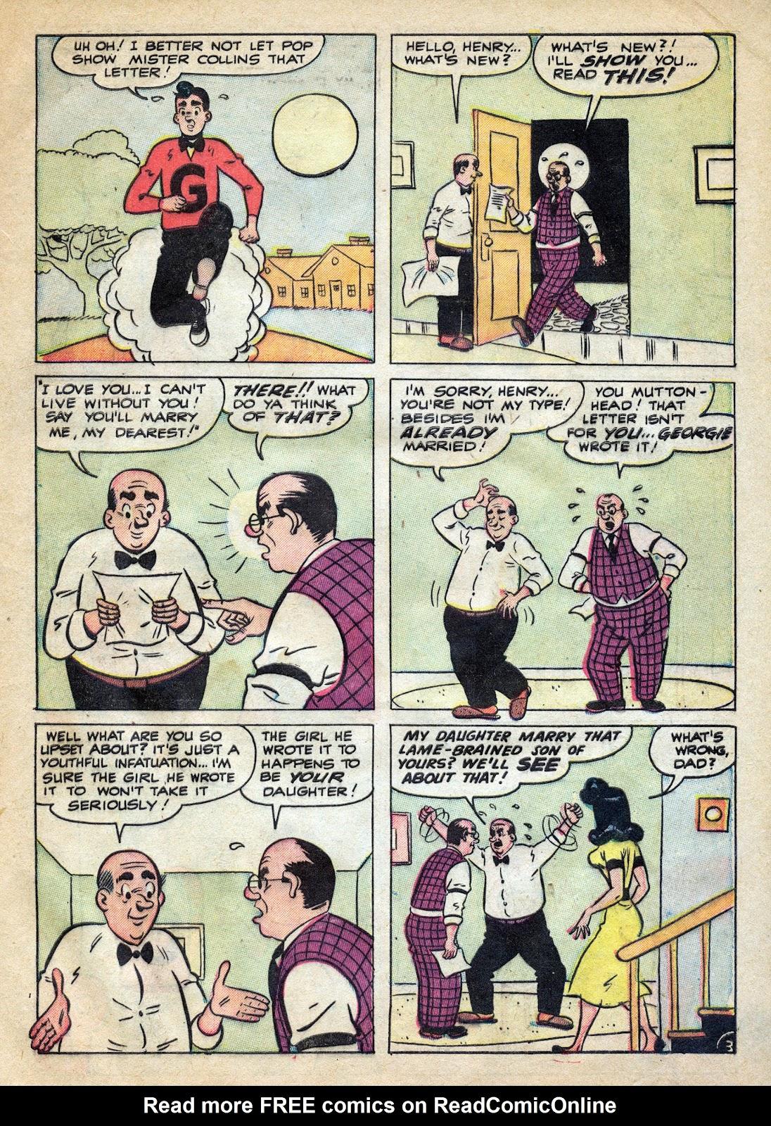 Georgie Comics (1949) issue 39 - Page 5