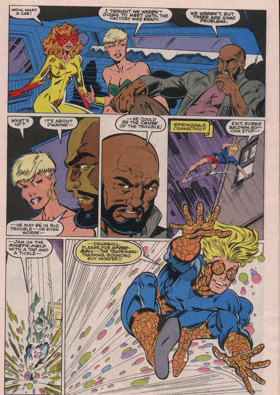 The New Warriors Issue #18 #22 - English 10