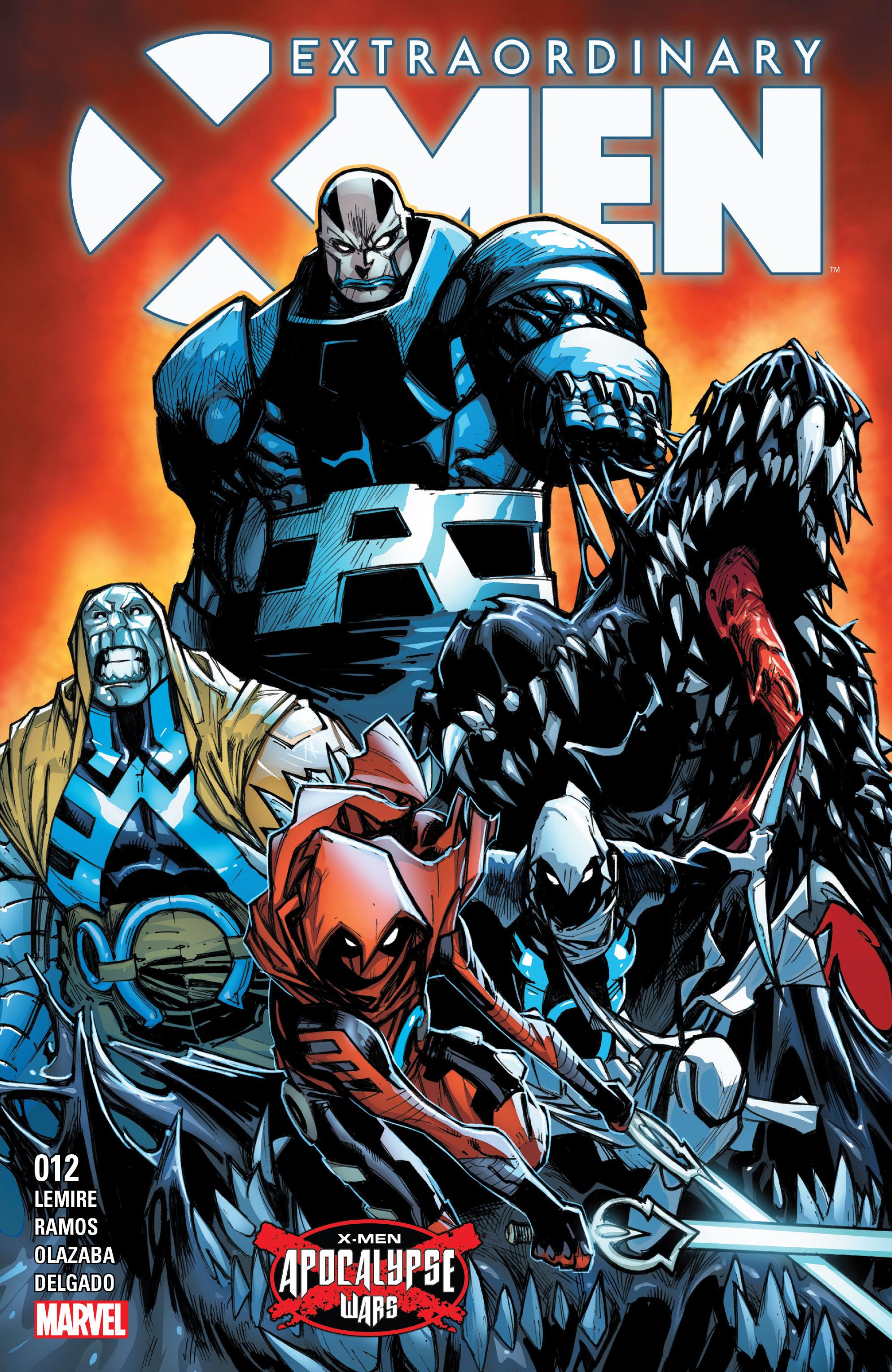 Extraordinary X-Men 12 Page 1