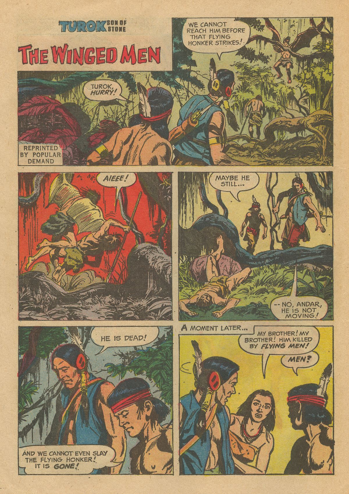 Read online Turok, Son of Stone comic -  Issue #54 - 24