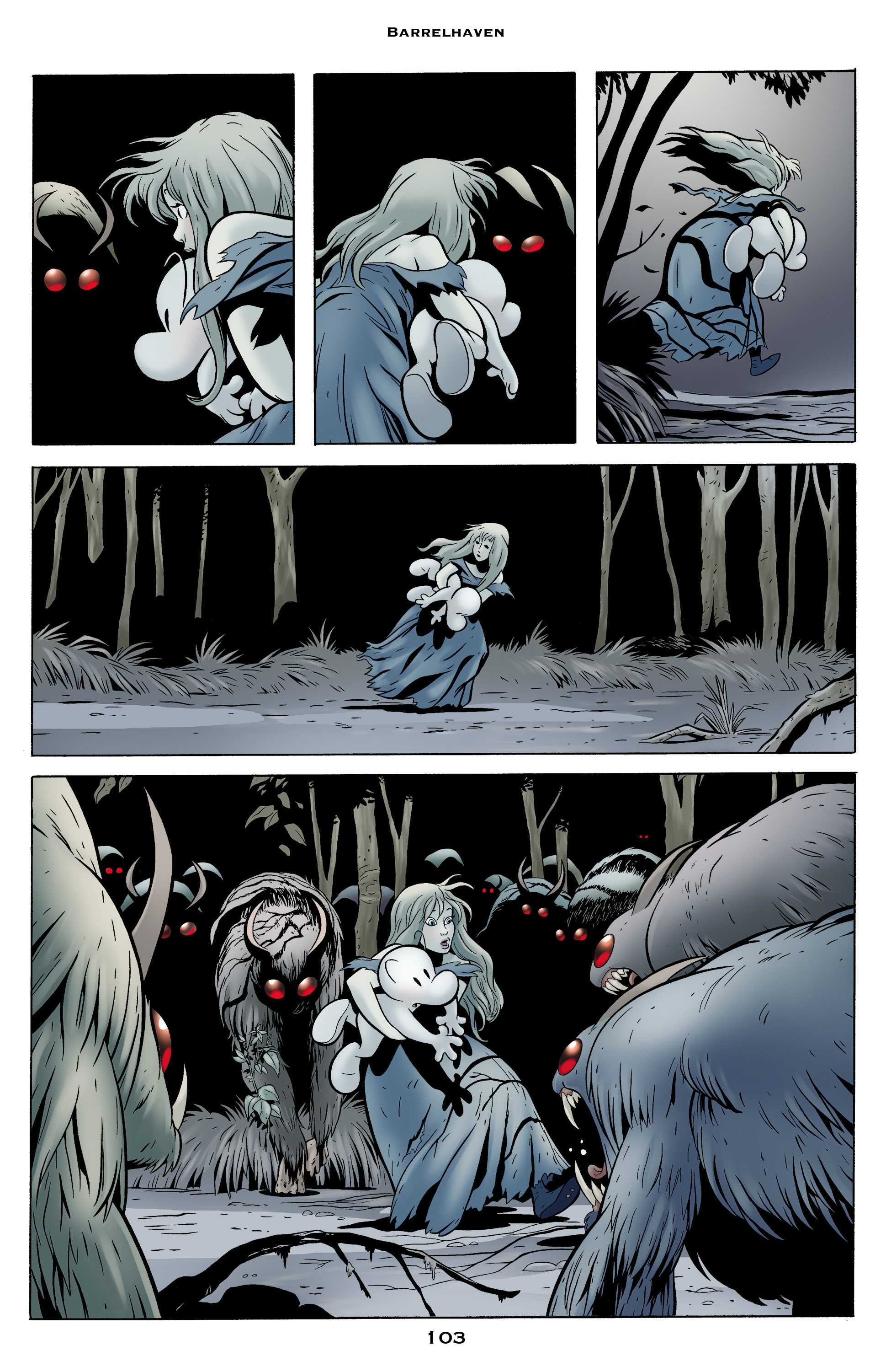 Read online Bone: Out From Boneville comic -  Issue # TPB - 103