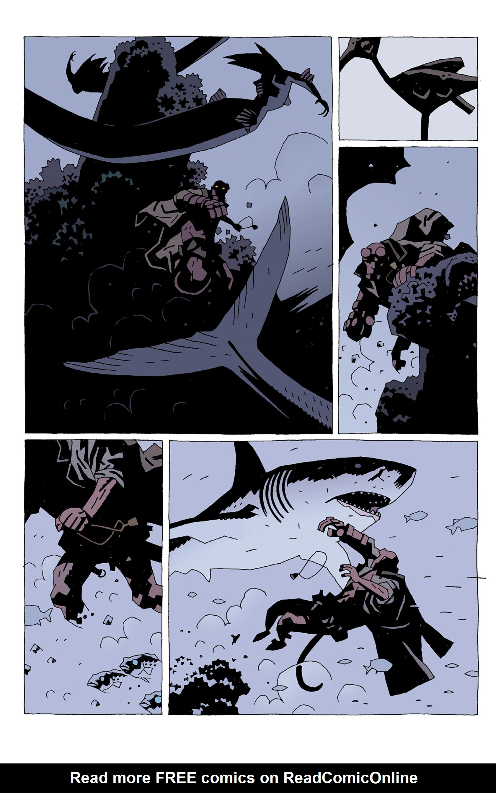 Read online Hellboy: Strange Places comic -  Issue # TPB - 22