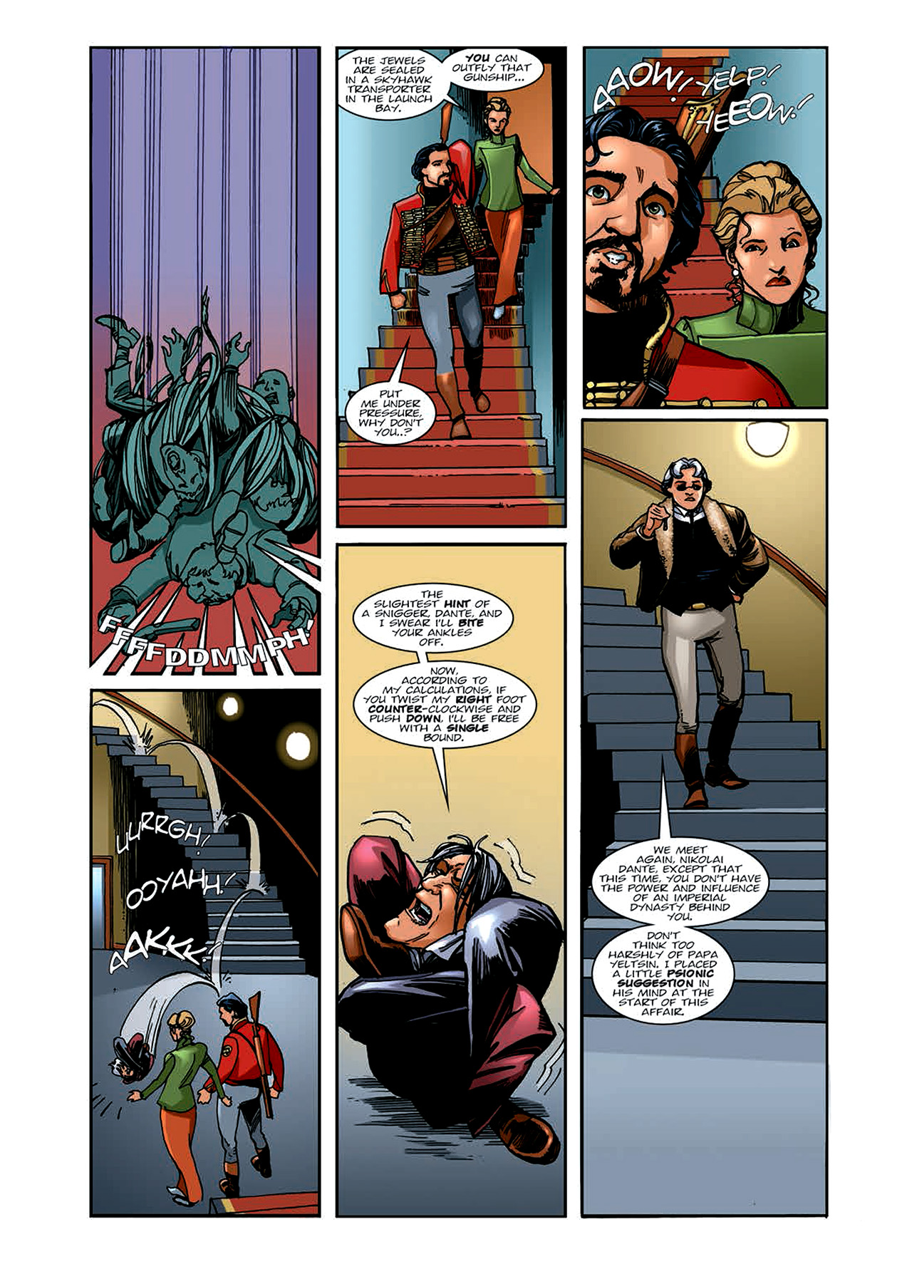 Read online Nikolai Dante comic -  Issue # TPB 6 - 70