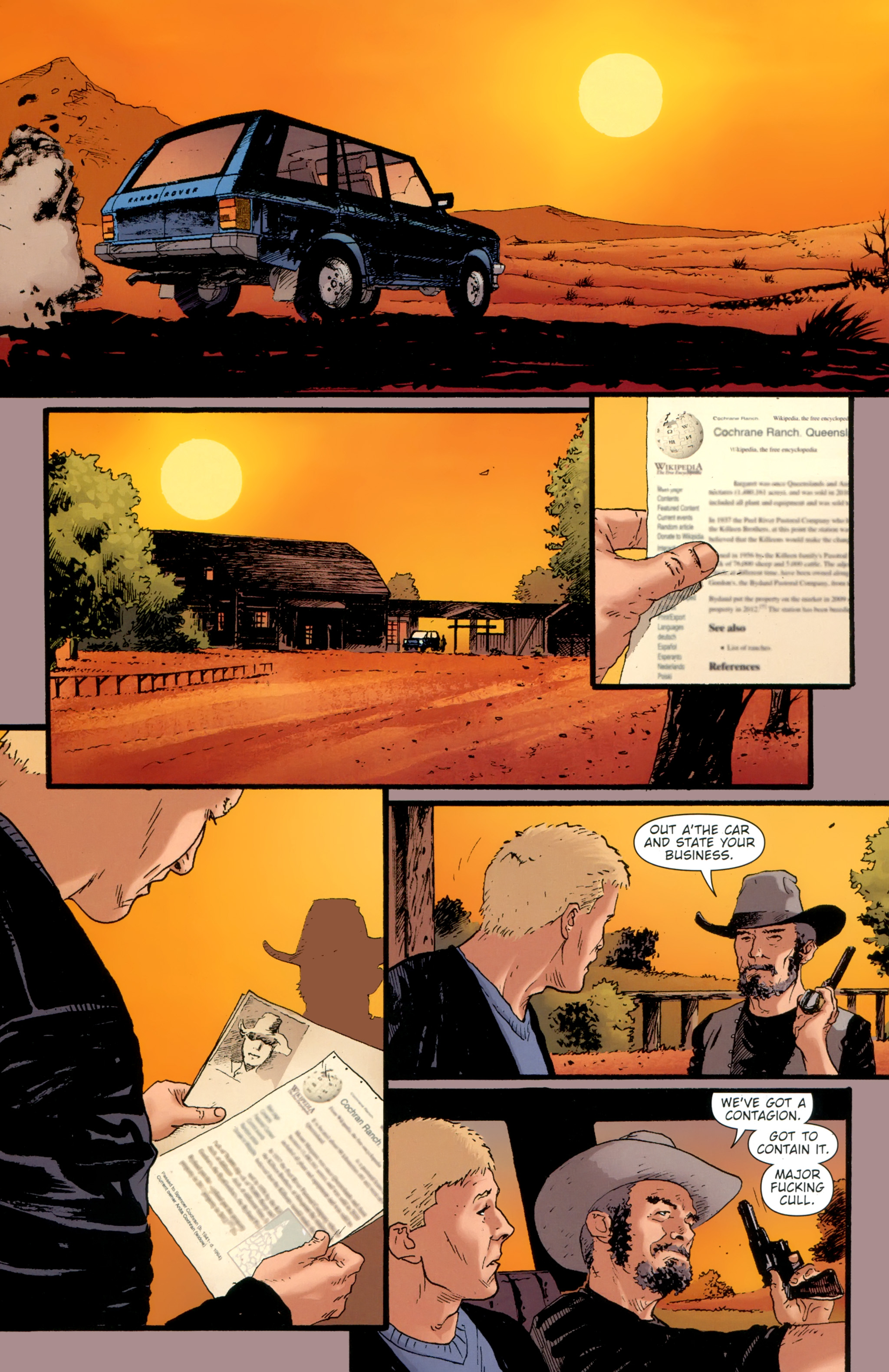 Read online The Girl With the Dragon Tattoo comic -  Issue # TPB 2 - 134