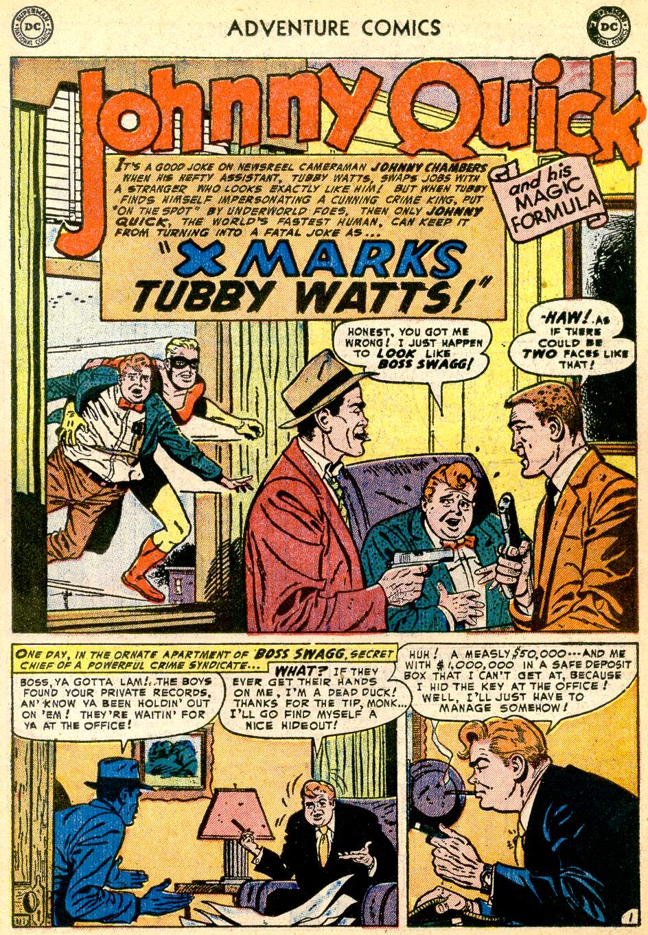 Read online Adventure Comics (1938) comic -  Issue #192 - 25