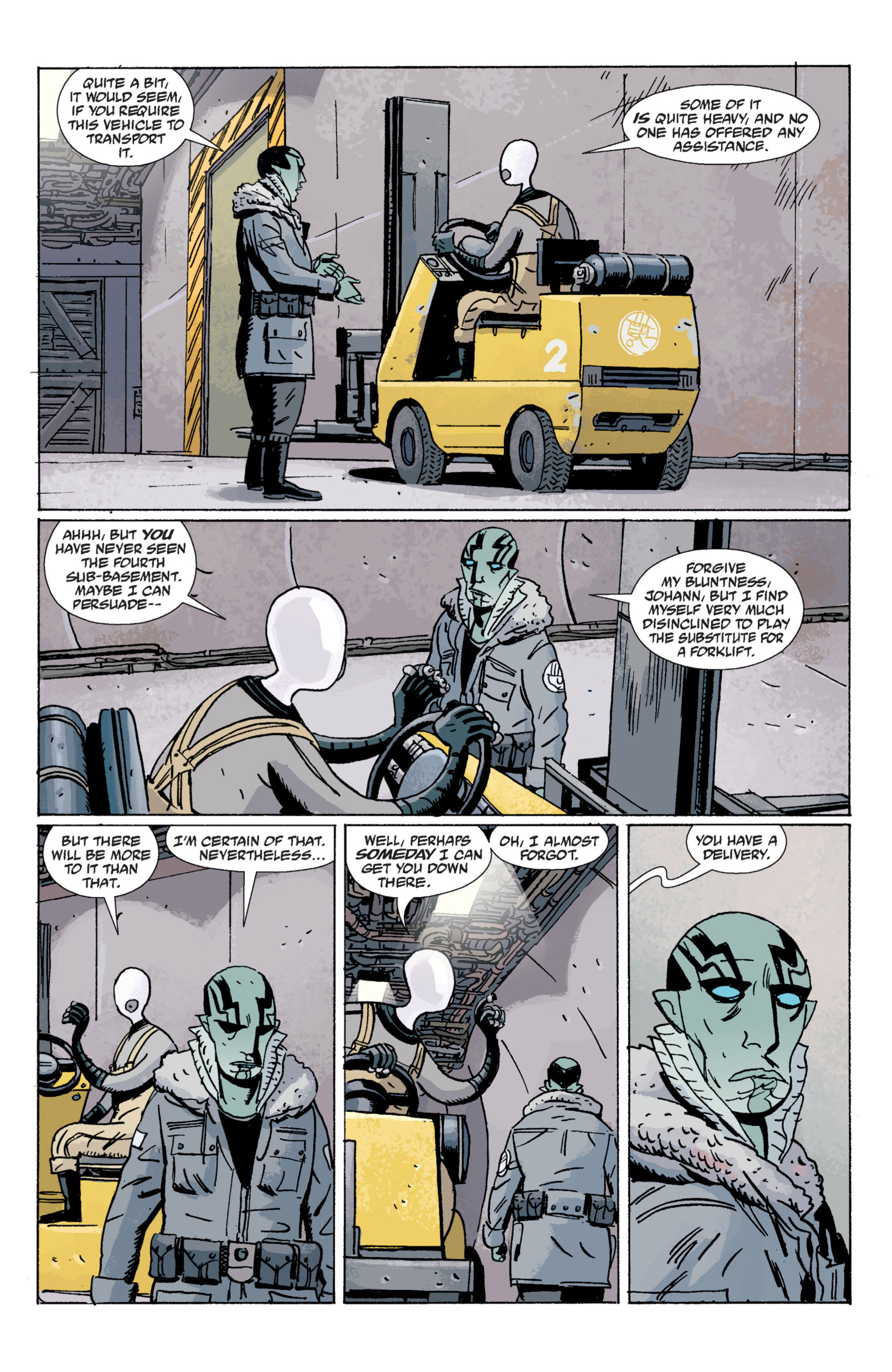 Read online B.P.R.D. (2003) comic -  Issue # TPB 7 - 28