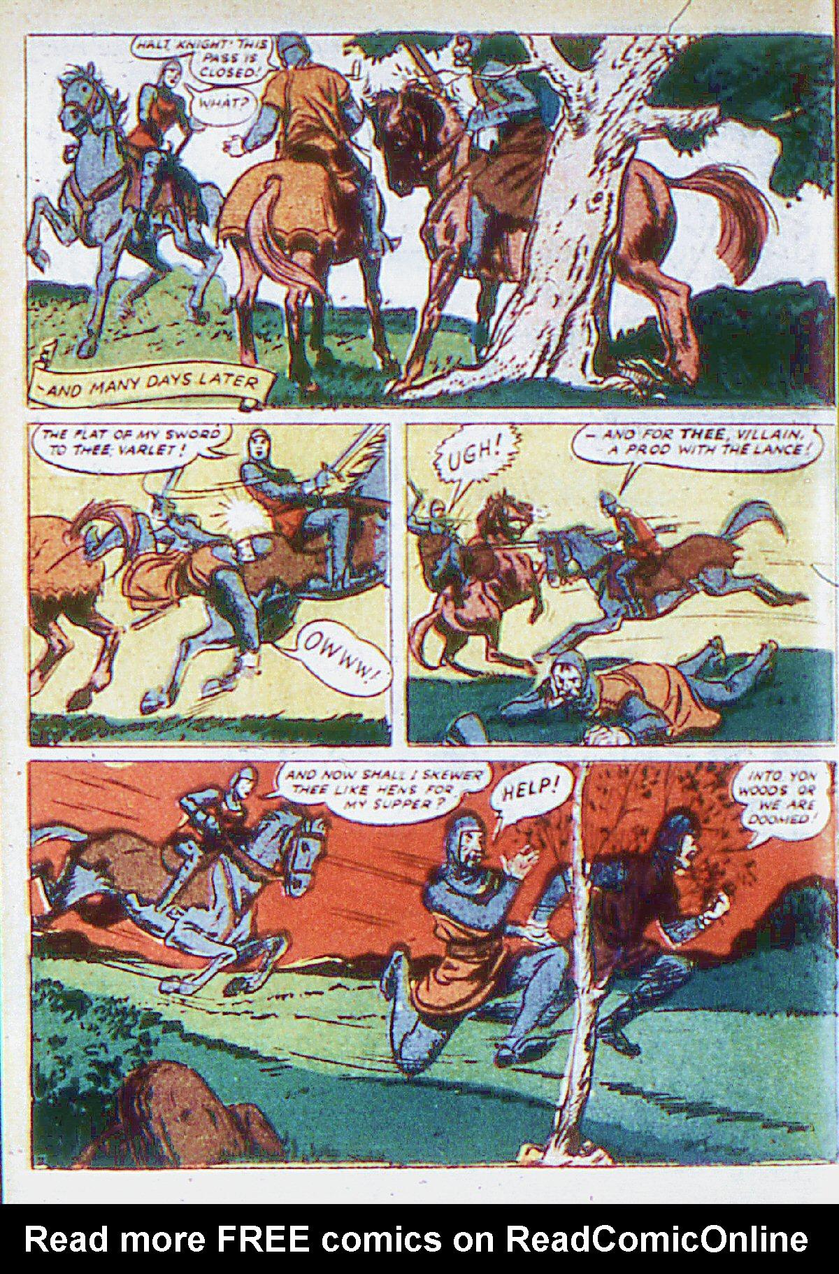 Read online Adventure Comics (1938) comic -  Issue #66 - 19