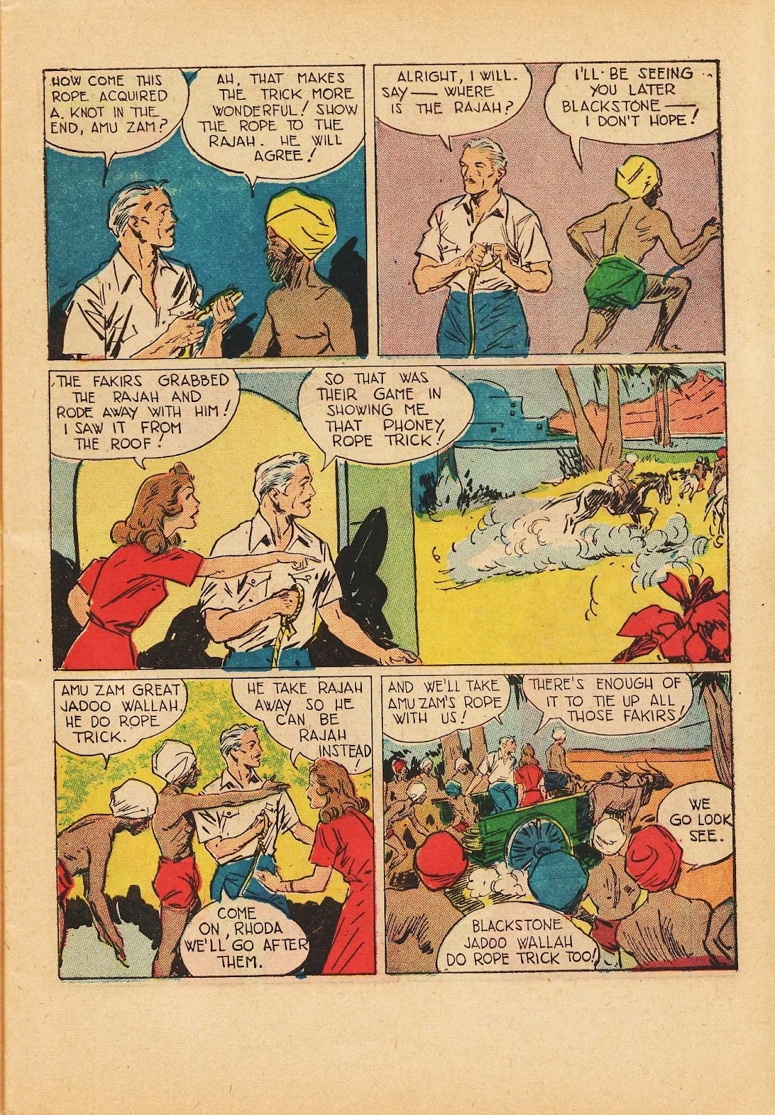 Super-Magician Comics issue 22 - Page 13