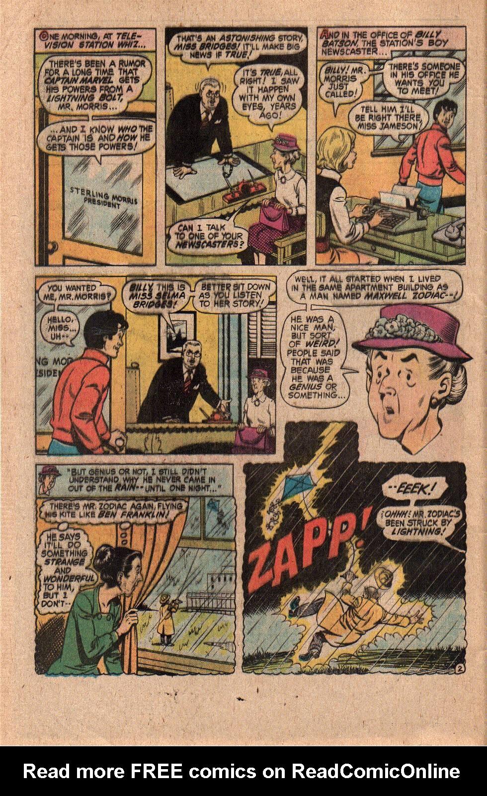 Read online Shazam! (1973) comic -  Issue #20 - 4