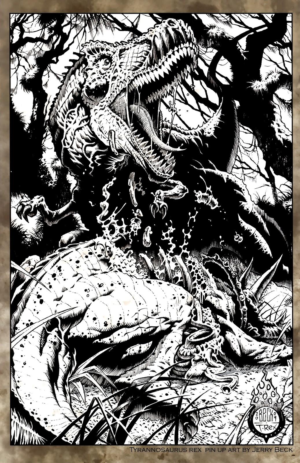 Read online Tyrannosaurus Rex comic -  Issue # Full - 26