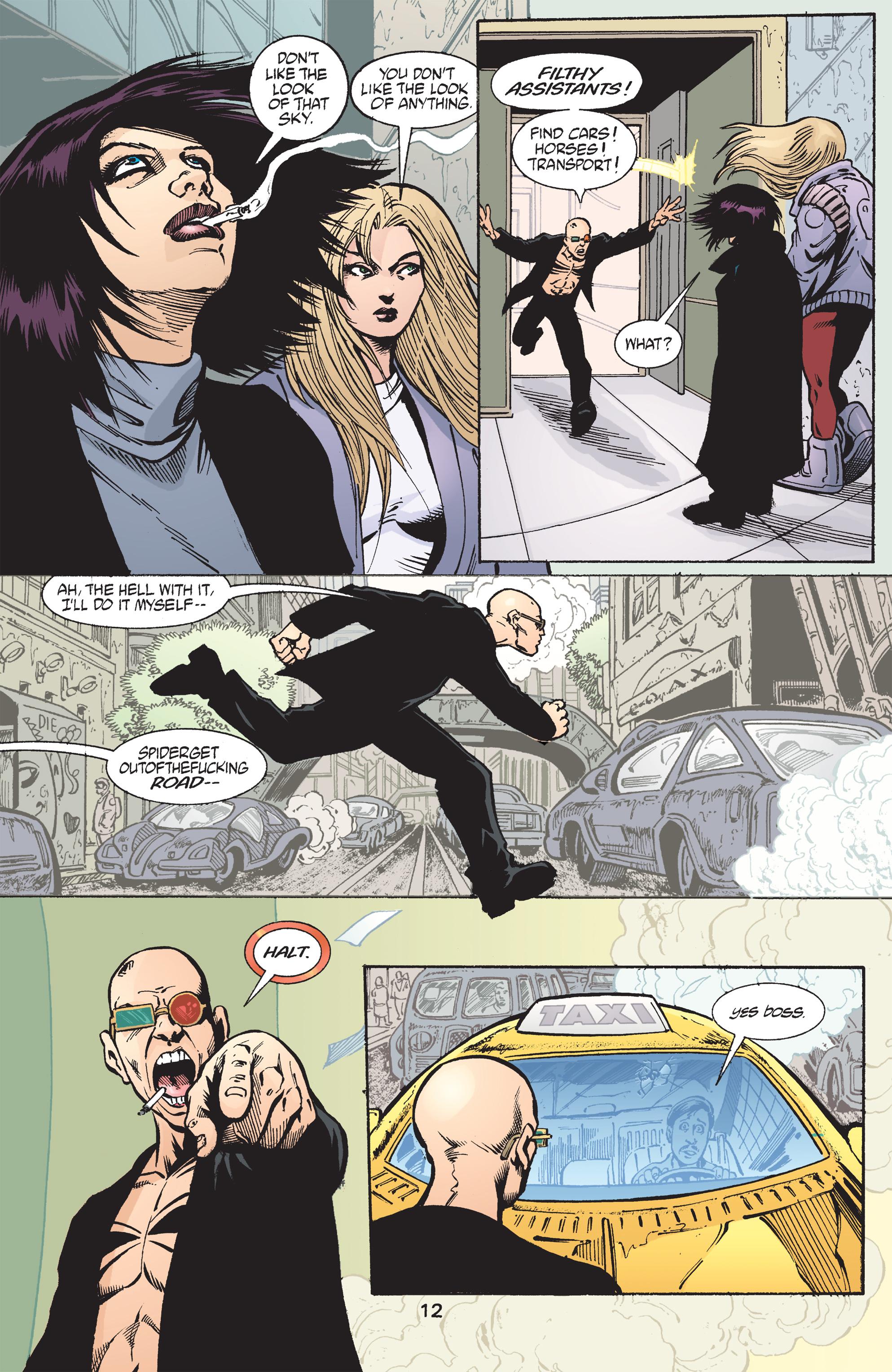 Read online Transmetropolitan comic -  Issue #43 - 13