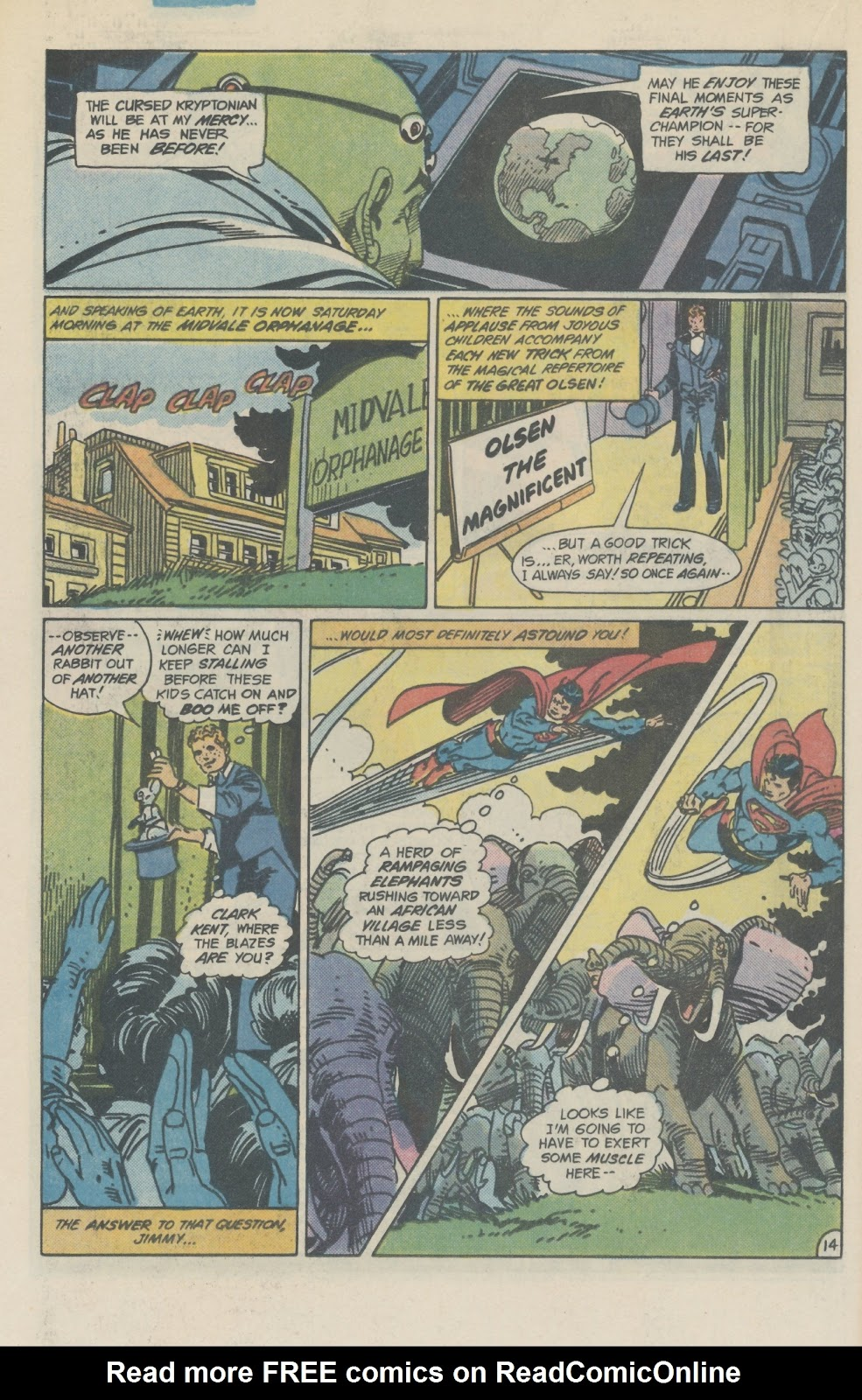 Read online Superman Special (1983) comic -  Issue #2 - 17