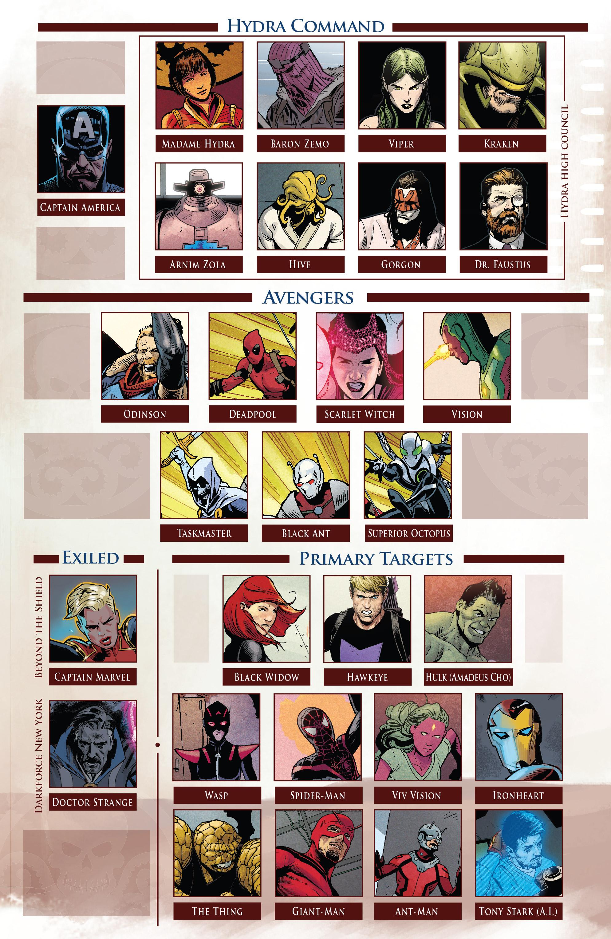 Read online Secret Empire comic -  Issue #1 - 10