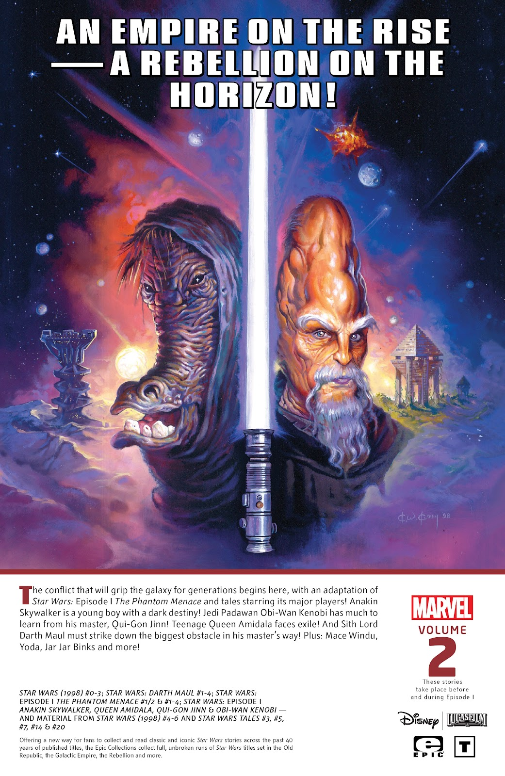 Read online Star Wars Legends: Rise of the Sith - Epic Collection comic -  Issue # TPB 2 (Part 5) - 91