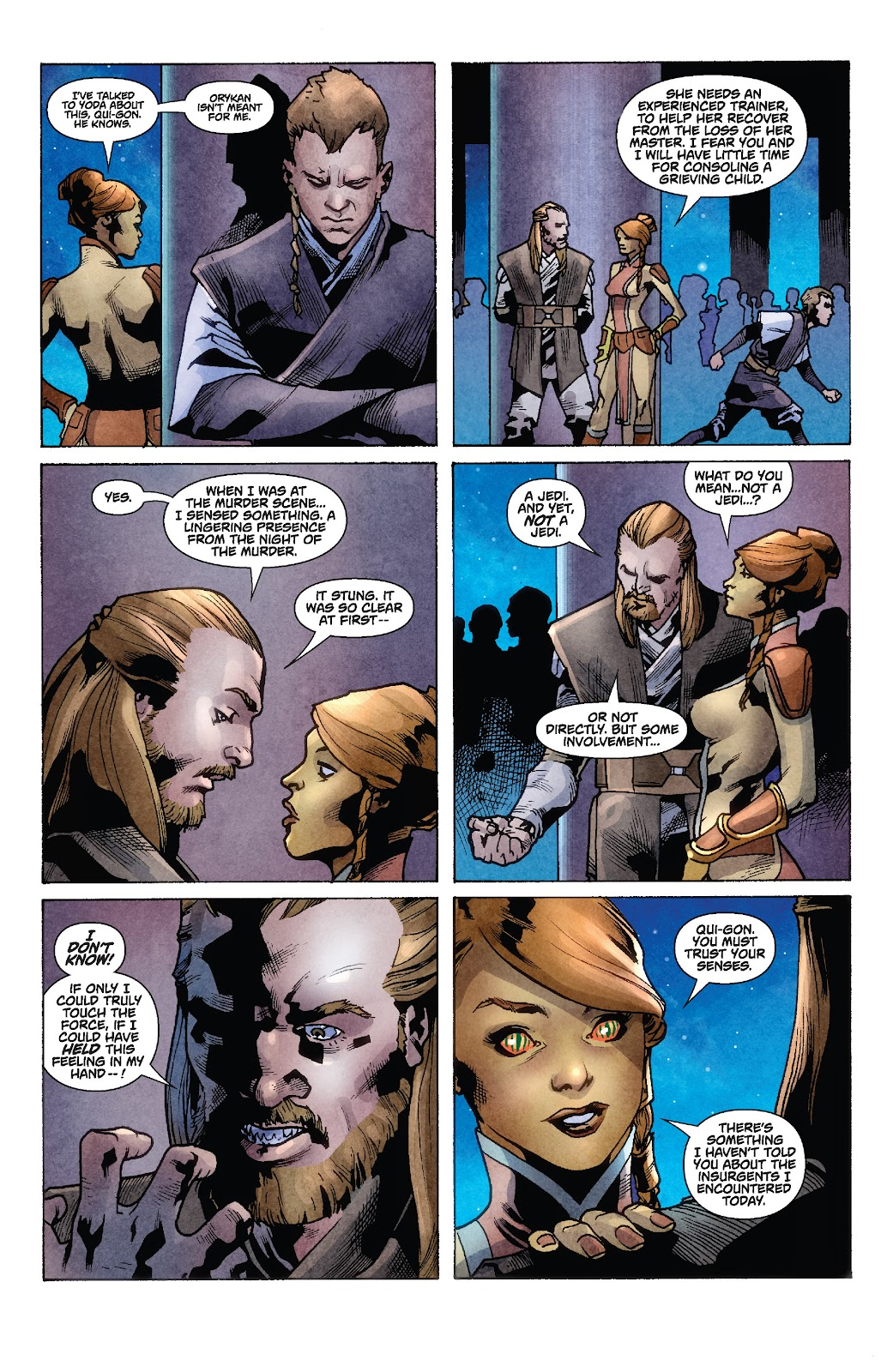 Read online Star Wars Legends: Rise of the Sith - Epic Collection comic -  Issue # TPB 1 (Part 2) - 27