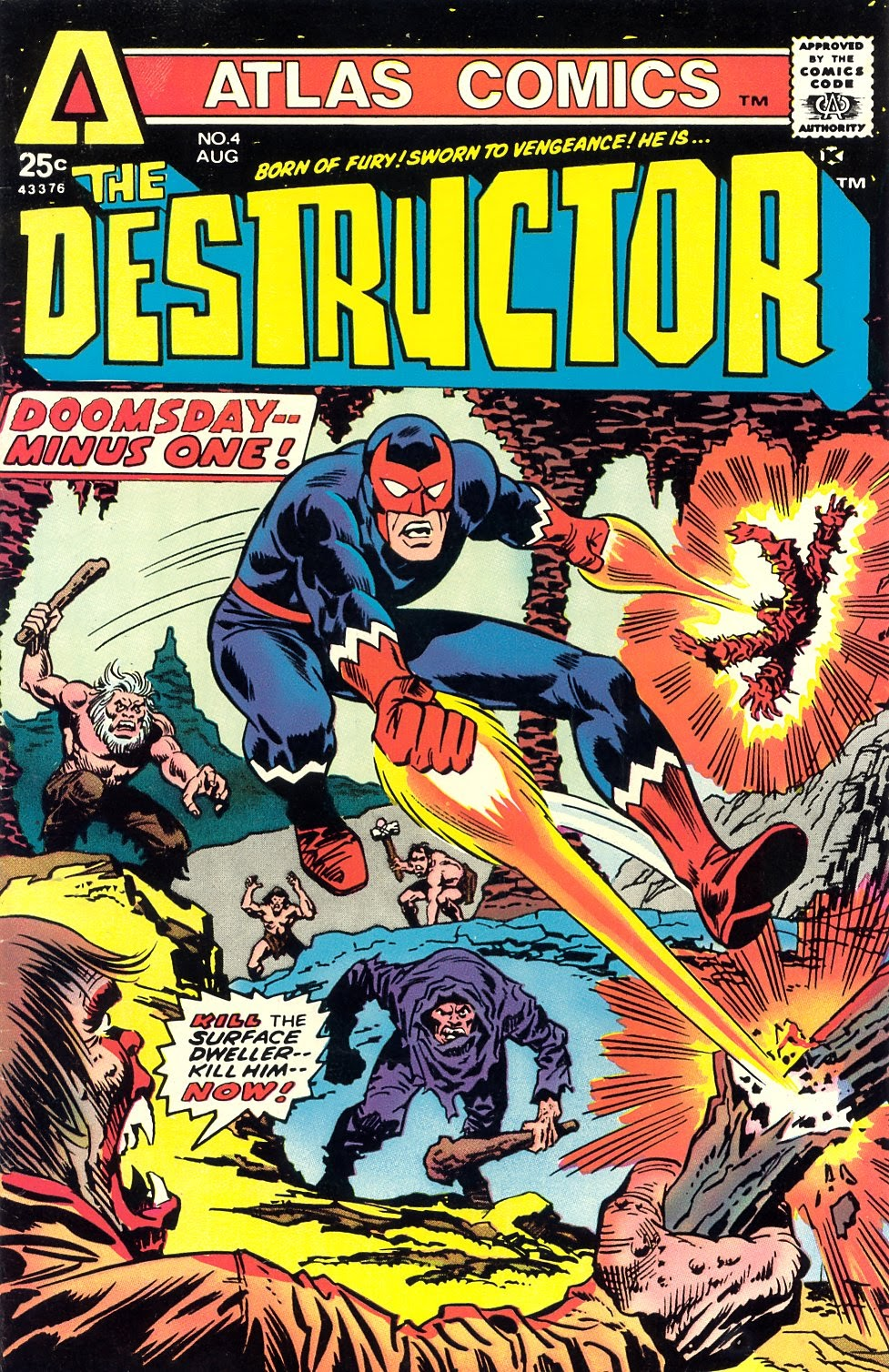 The Destructor issue 4 - Page 1