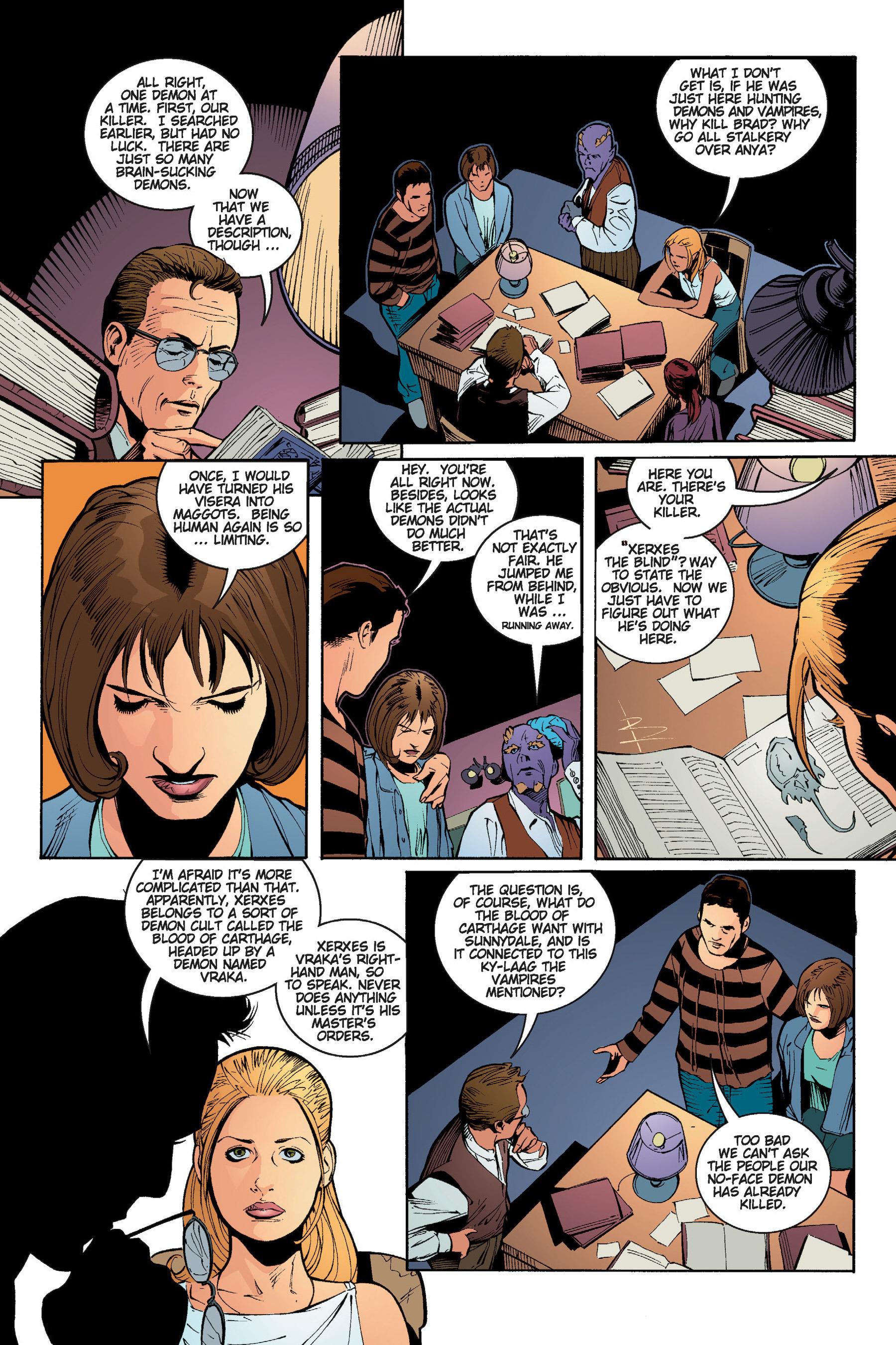 Read online Buffy the Vampire Slayer: Omnibus comic -  Issue # TPB 5 - 159