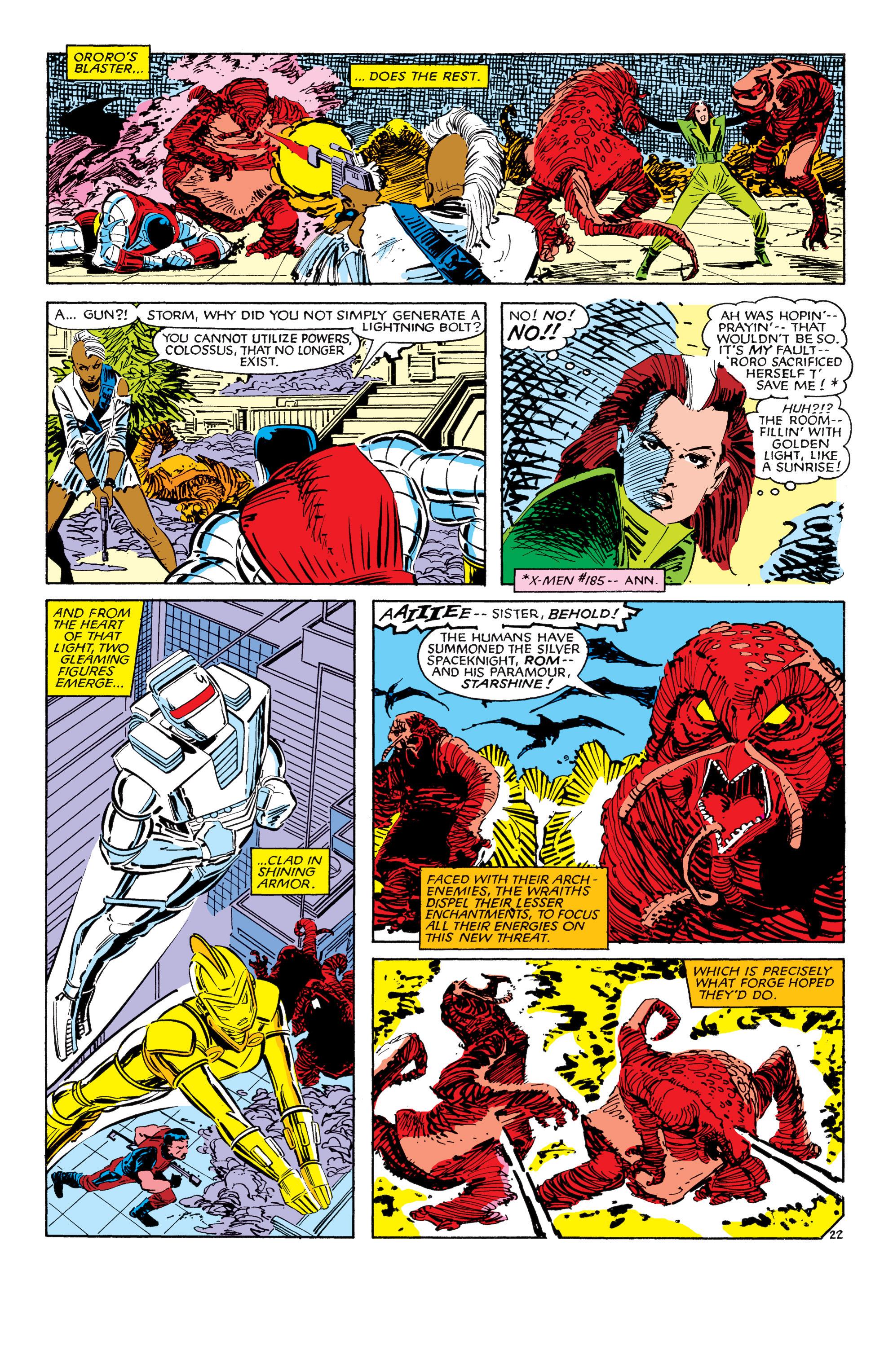 Read online Uncanny X-Men (1963) comic -  Issue #187 - 23
