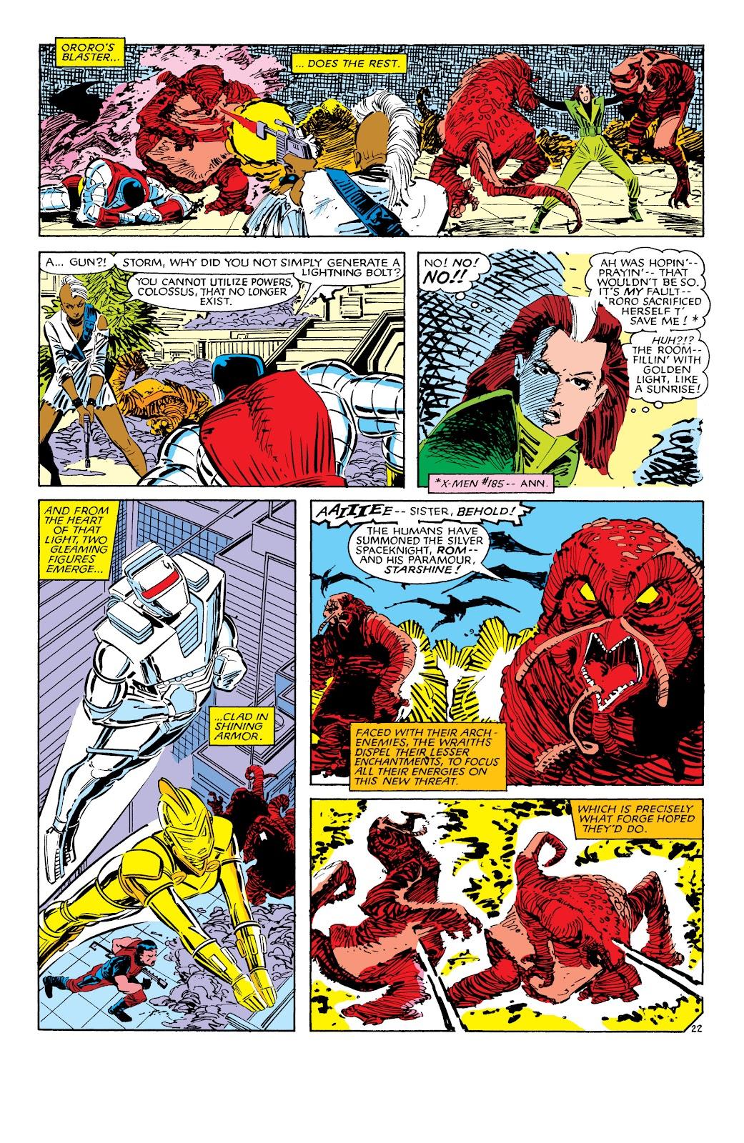 Uncanny X-Men (1963) issue 187 - Page 23