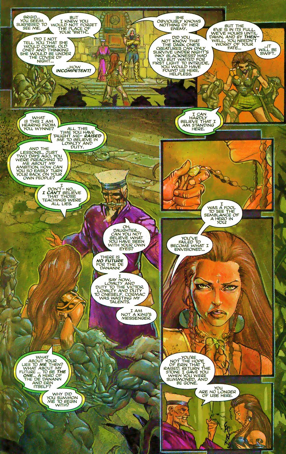 More Than Mortal: Sagas issue 3 - Page 6