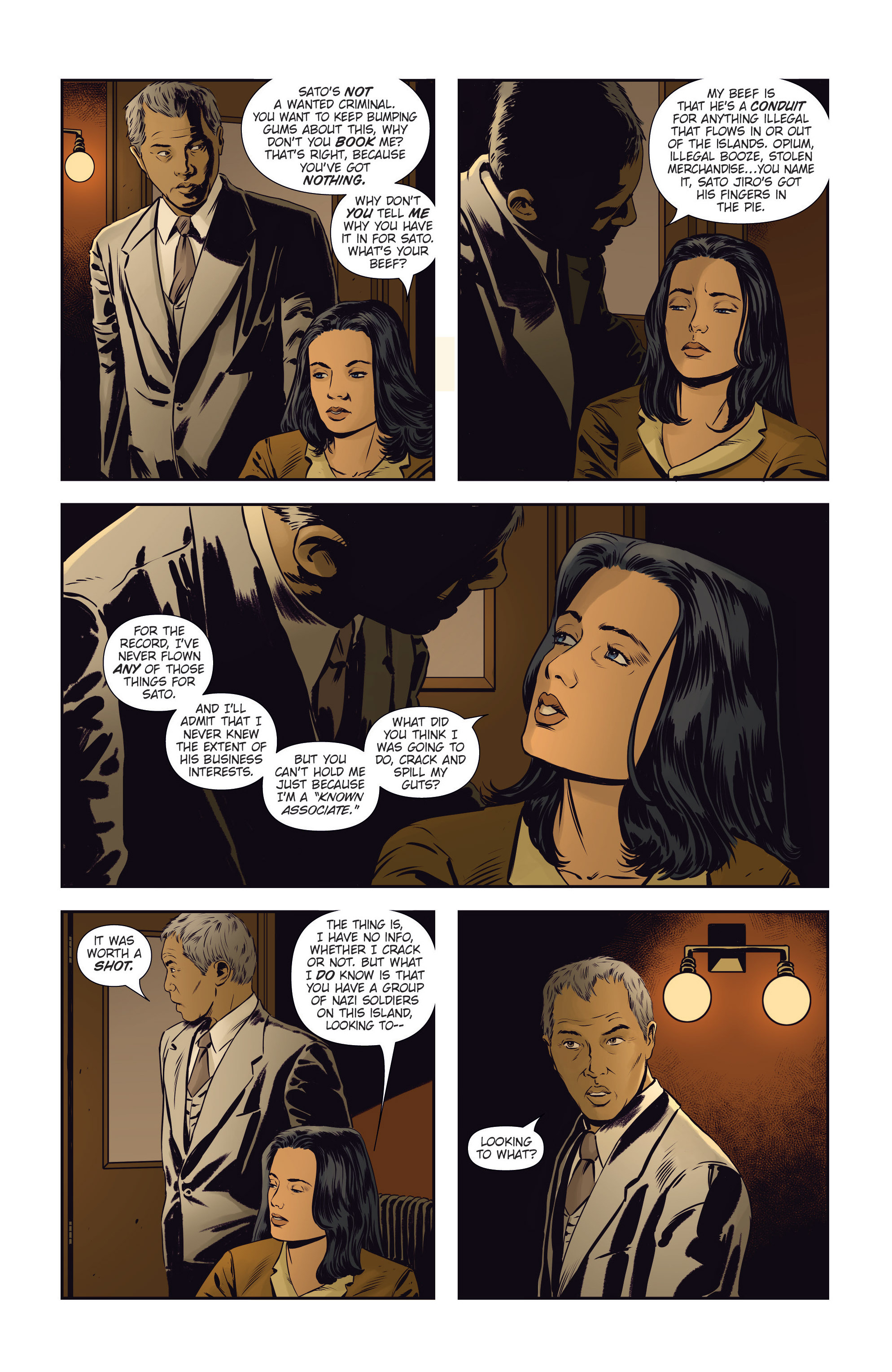 Read online Athena Voltaire and the Volcano Goddess comic -  Issue #3 - 8