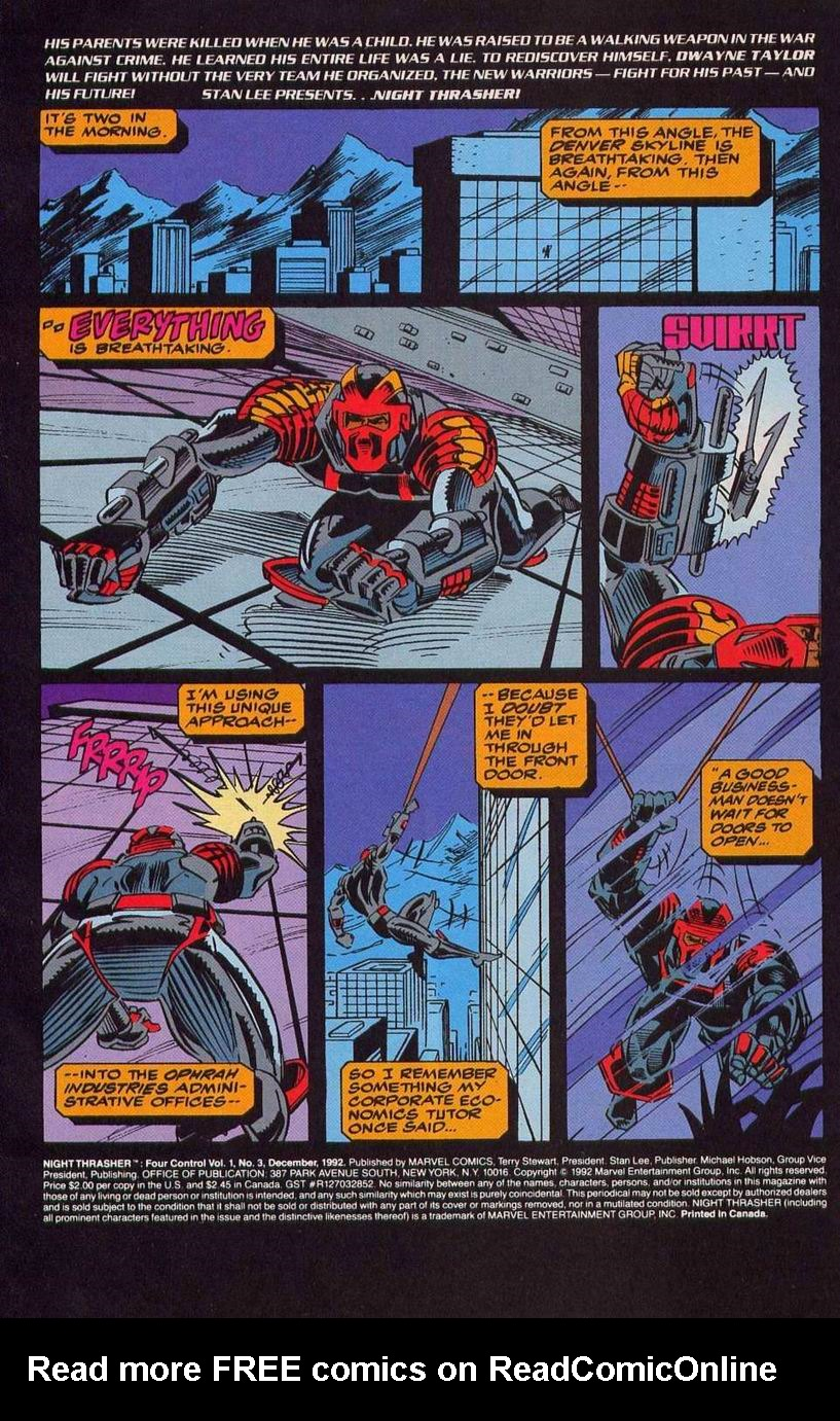 Night Thrasher: Four Control 3 Page 2