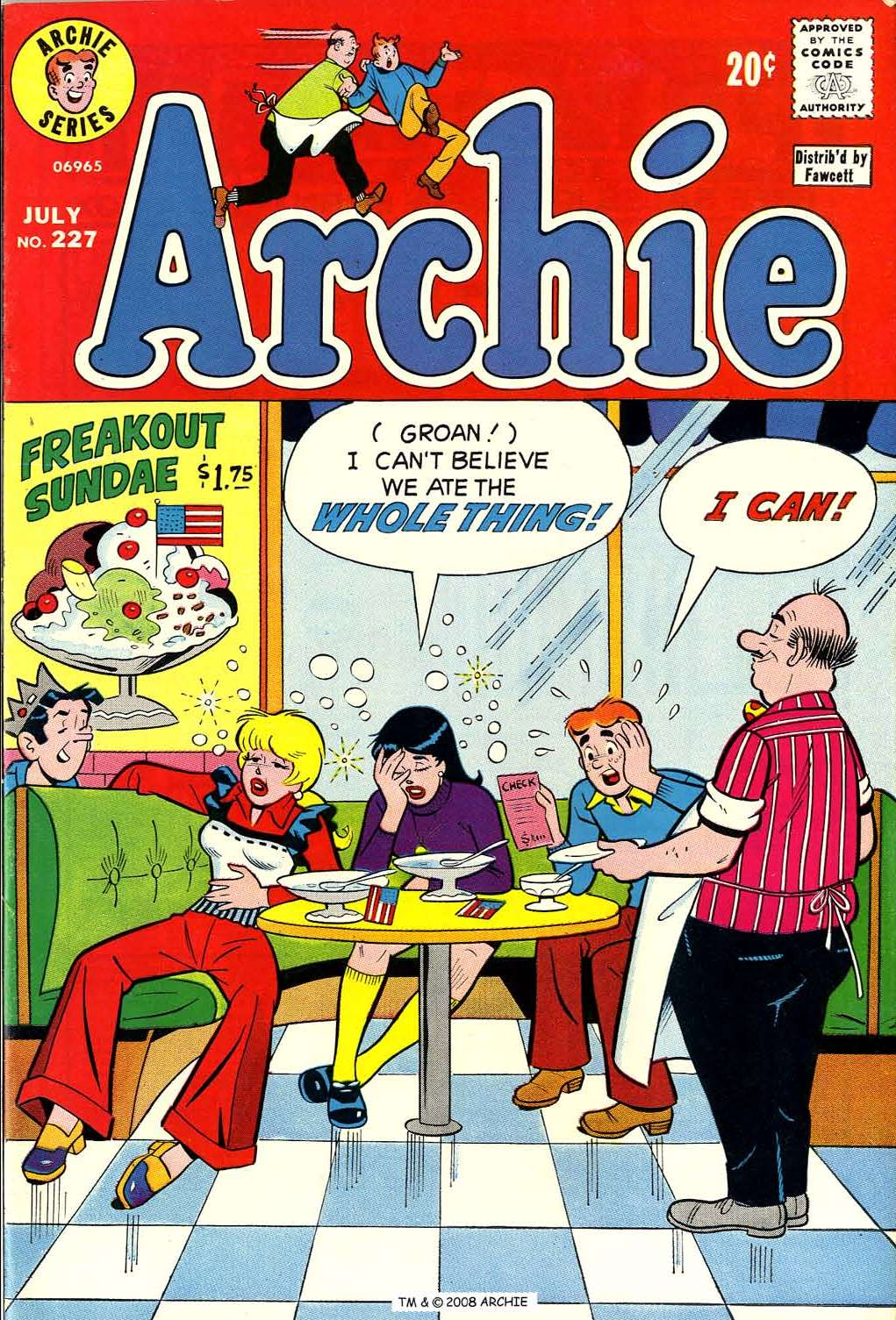 Read online Archie (1960) comic -  Issue #227 - 1