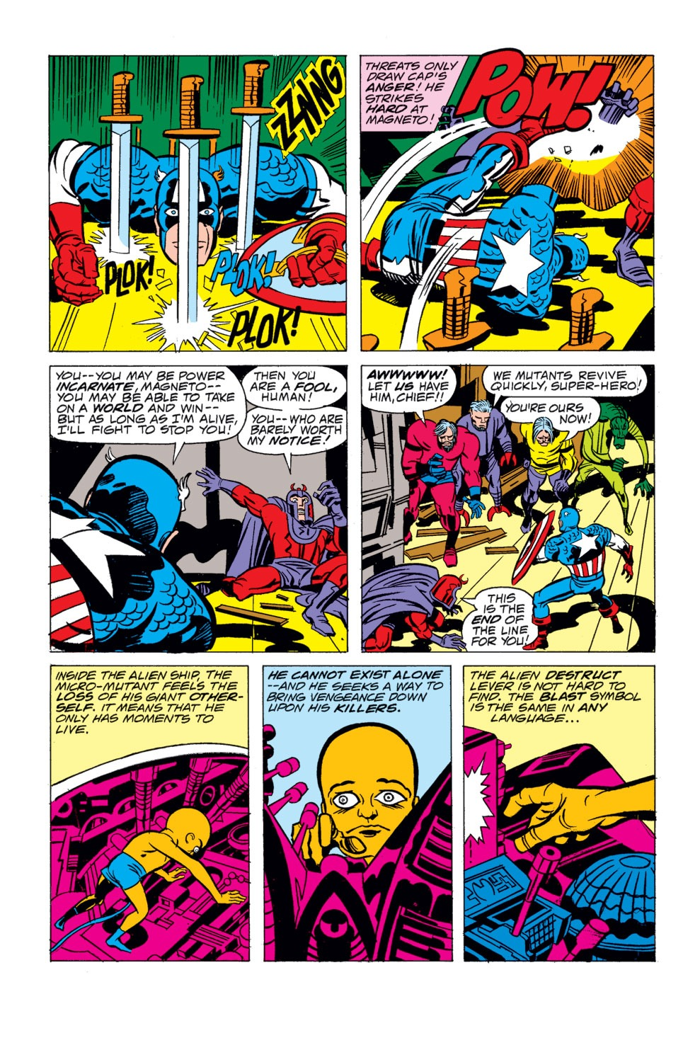 Read online Captain America (1968) comic -  Issue # _Annual 4 - 33