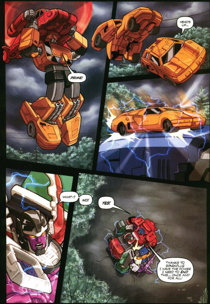 Read online Transformers Armada comic -  Issue #7 - 22