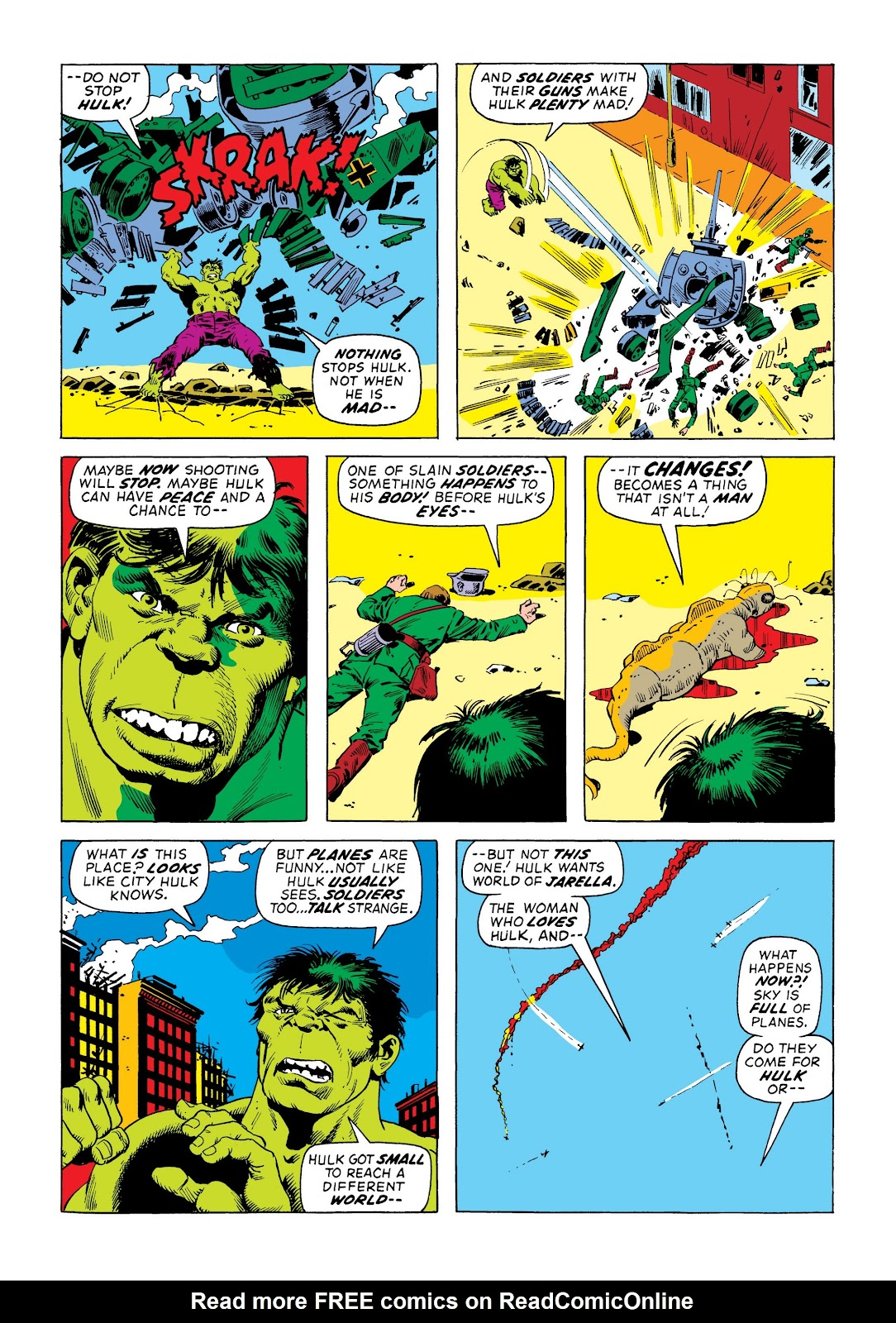 Read online Marvel Masterworks: The Incredible Hulk comic -  Issue # TPB 8 (Part 3) - 46