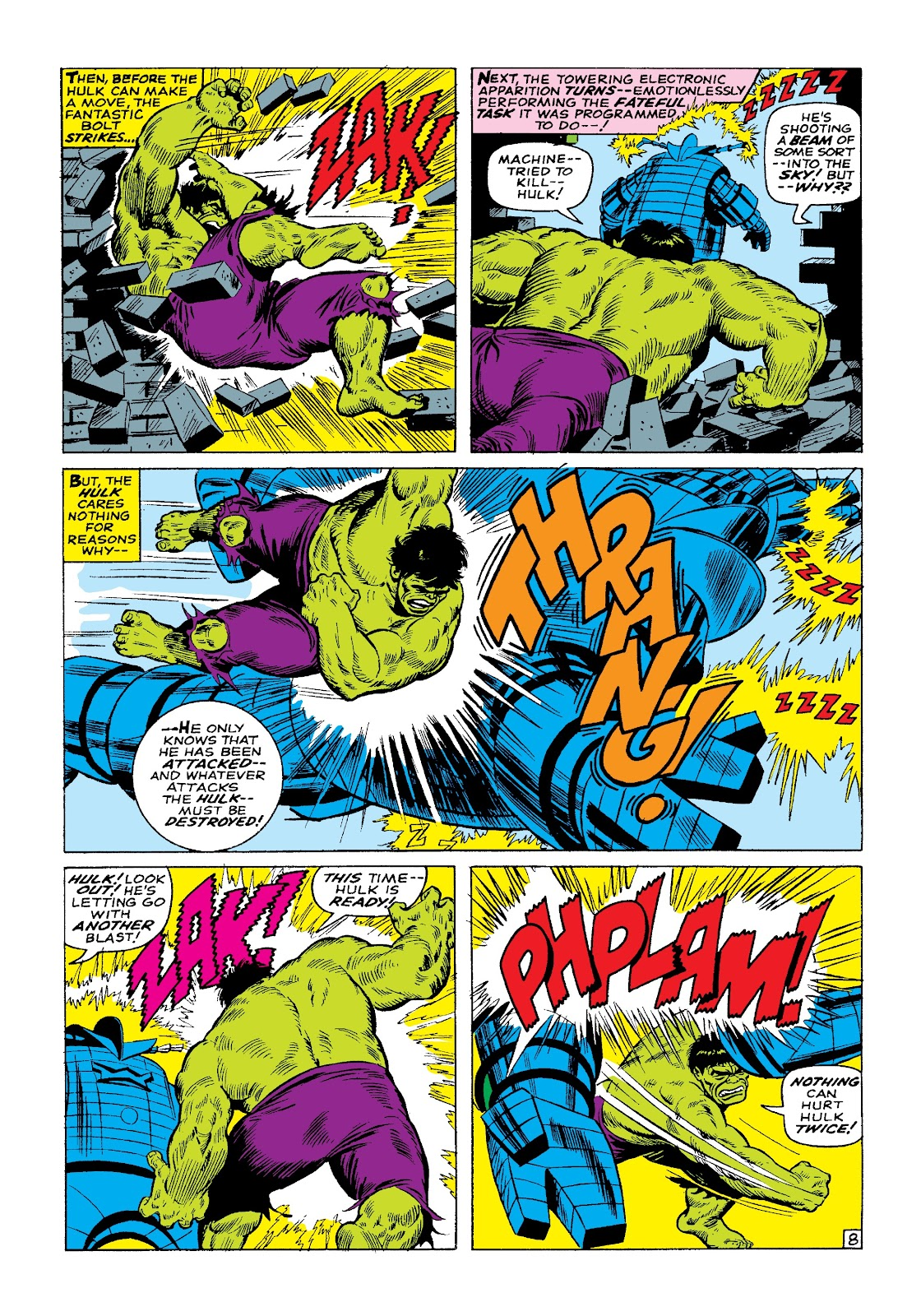Read online Marvel Masterworks: The Incredible Hulk comic -  Issue # TPB 3 (Part 1) - 70