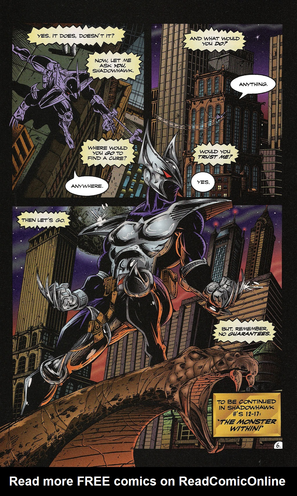 Read online ShadowHawk Gallery comic -  Issue # Full - 33