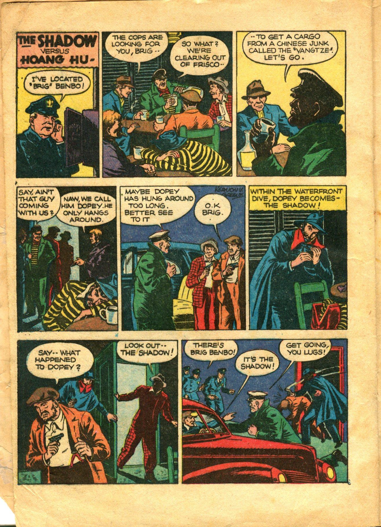Read online Shadow Comics comic -  Issue #10 - 4