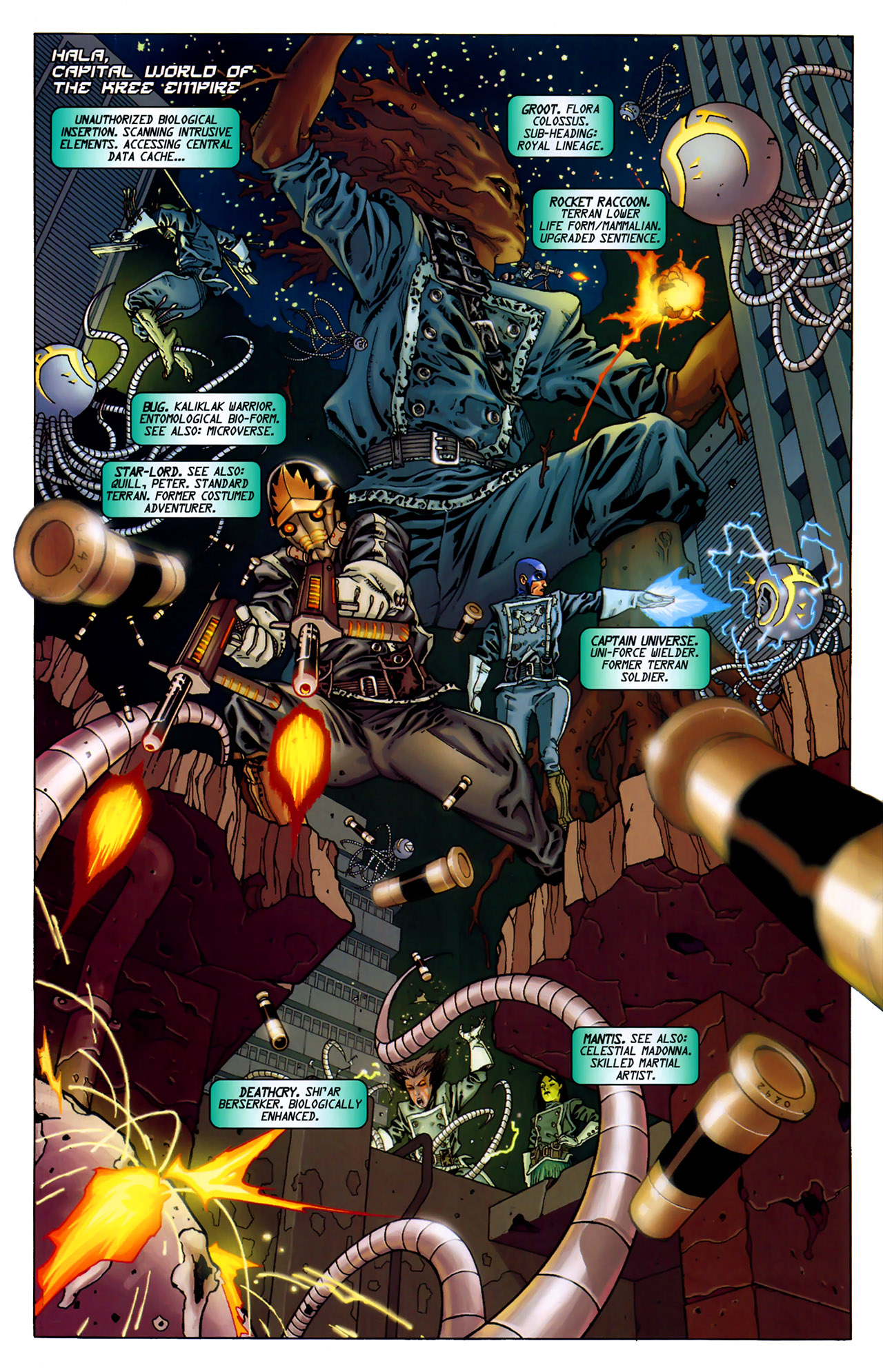 Read online Annihilation: Conquest - Starlord comic -  Issue #2 - 3