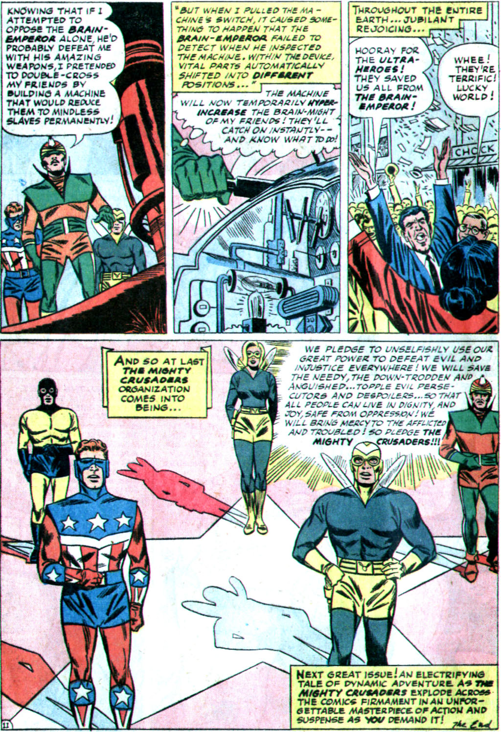 The Mighty Crusaders (1965) Issue #1 #1 - English 24