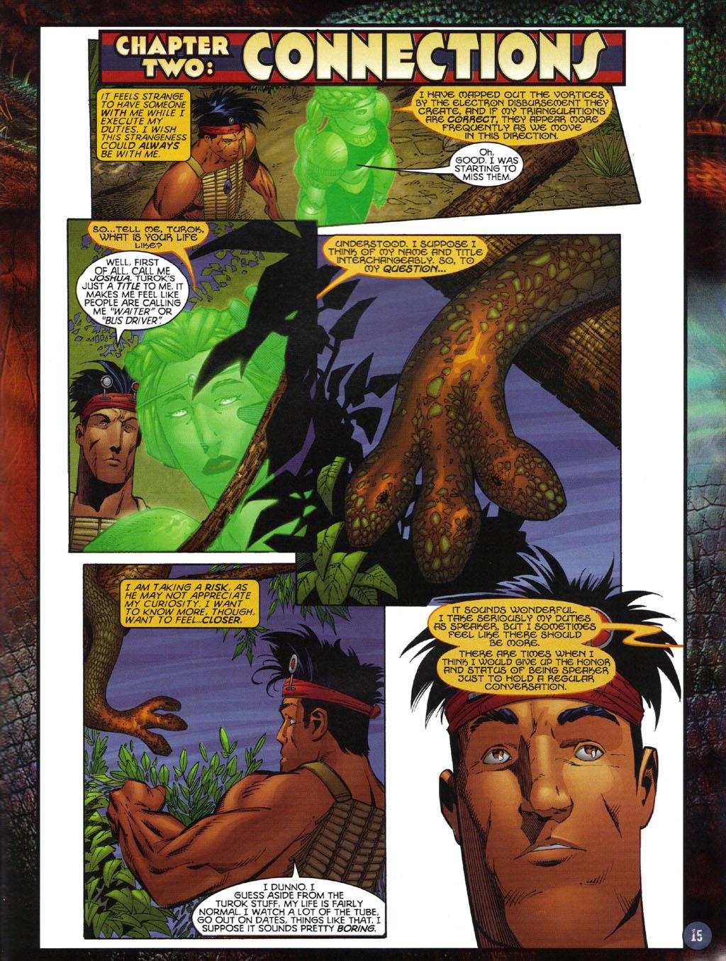 Read online Turok 2: Adon's Curse comic -  Issue # Full - 16