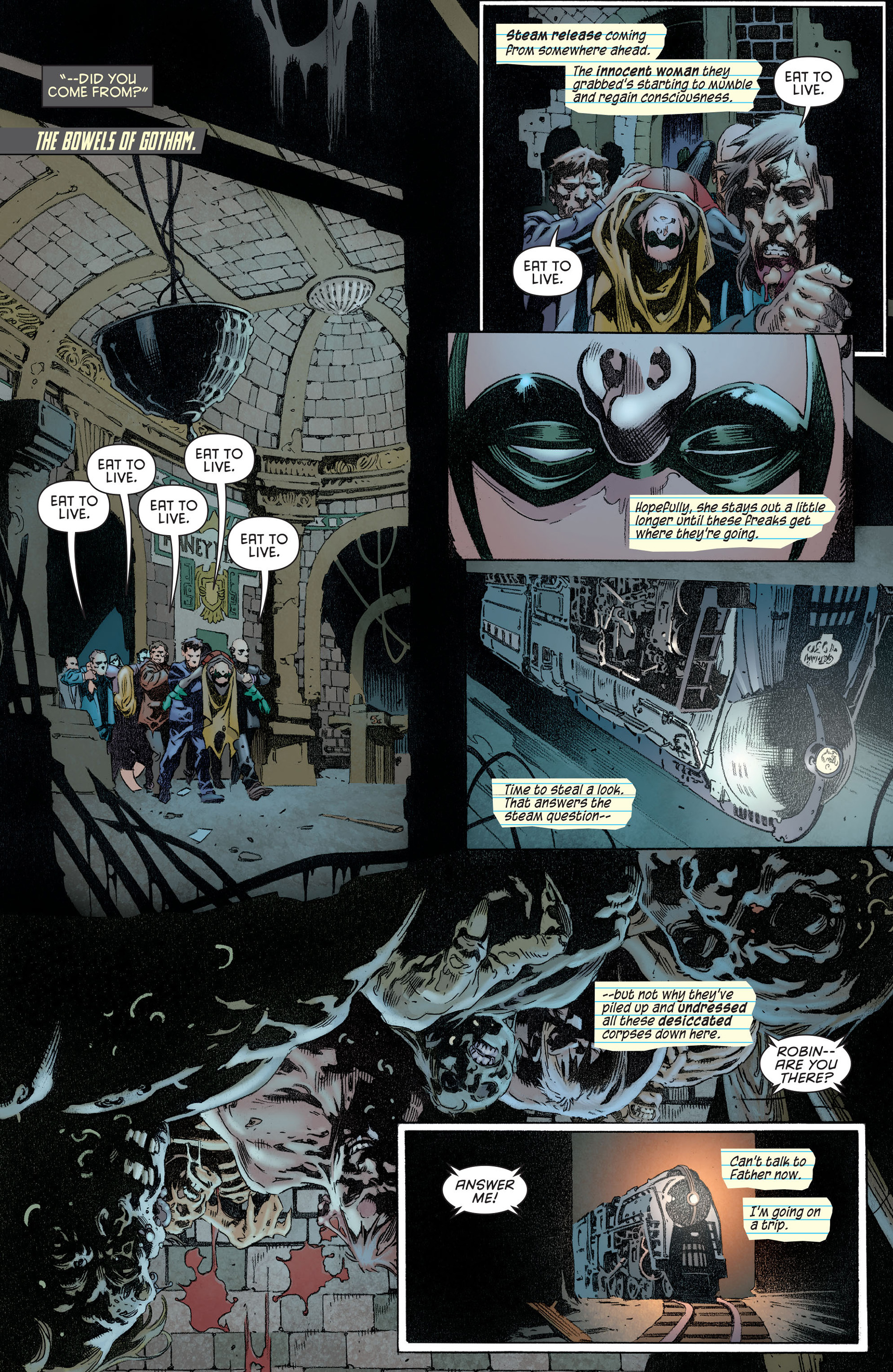 Read online Batman and Robin (2011) comic -  Issue #14 - 6