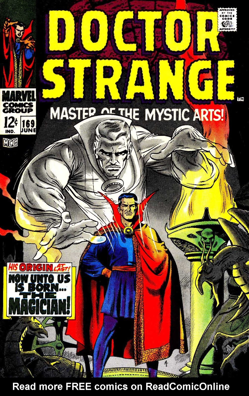 Doctor Strange (1968) issue 169 - Page 1