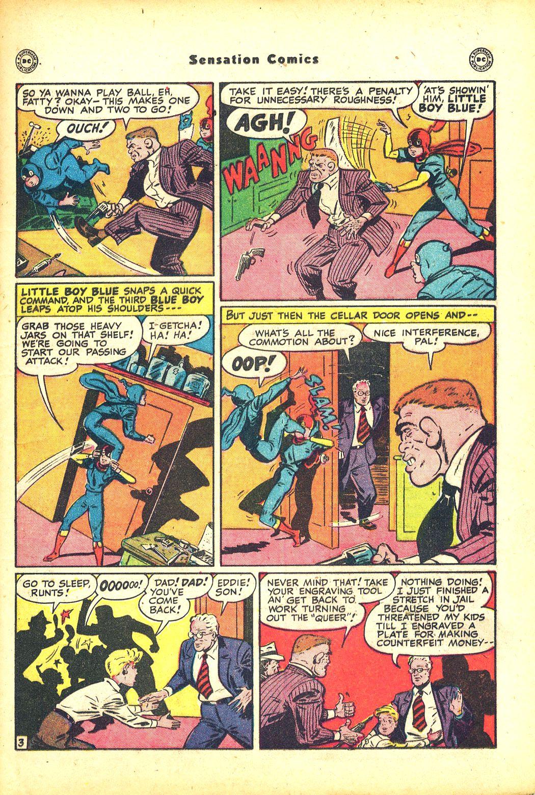 Read online Sensation (Mystery) Comics comic -  Issue #81 - 19