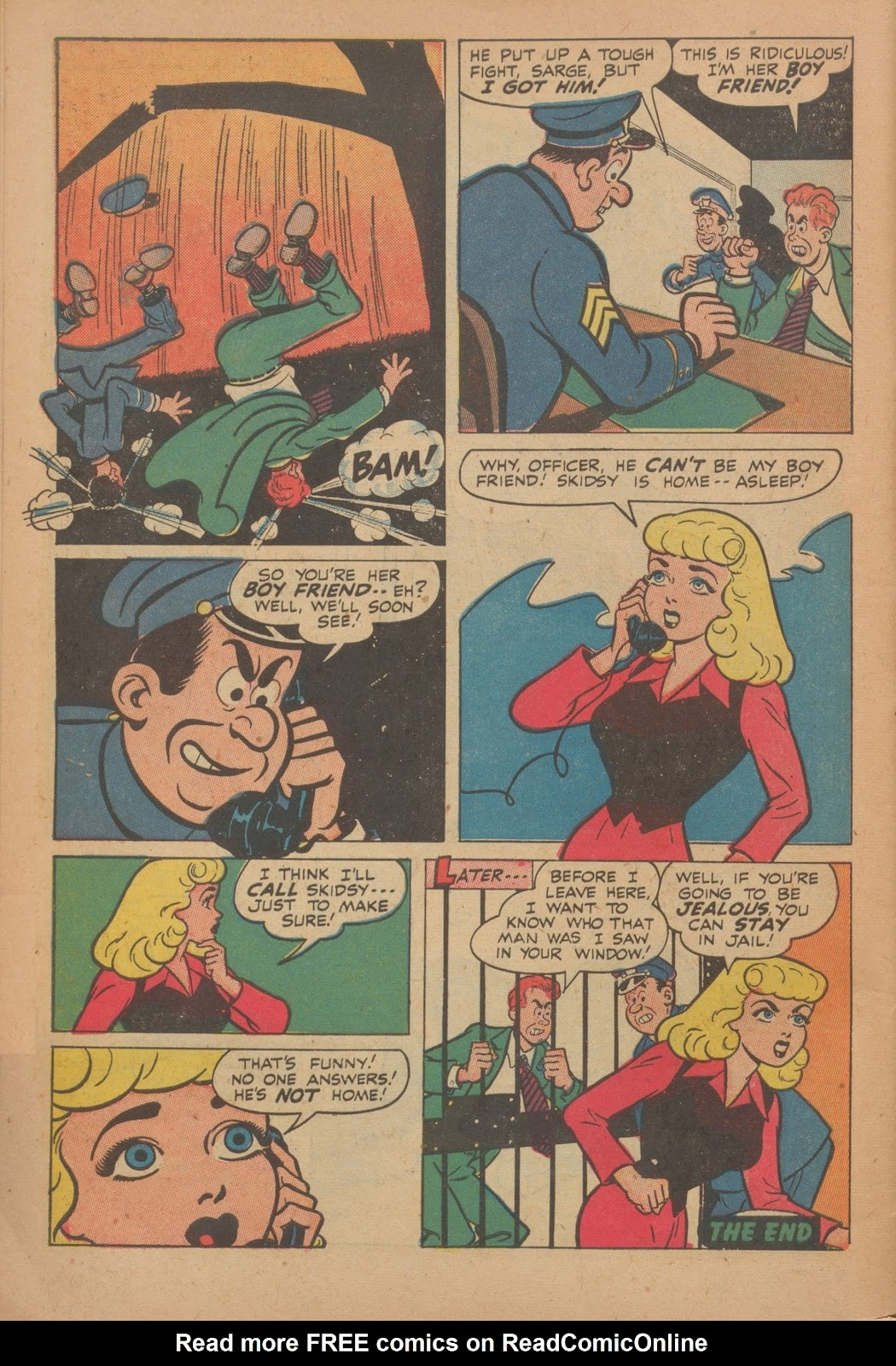 Read online Nellie The Nurse (1945) comic -  Issue #9 - 46