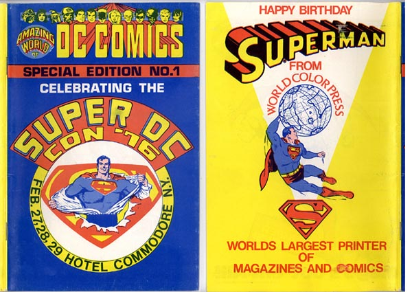 Read online Amazing World of DC Comics comic -  Issue # _Special - 1