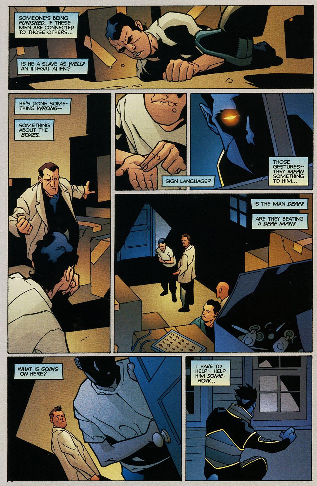 Read online Nightcrawler (2002) comic -  Issue #1 - 23