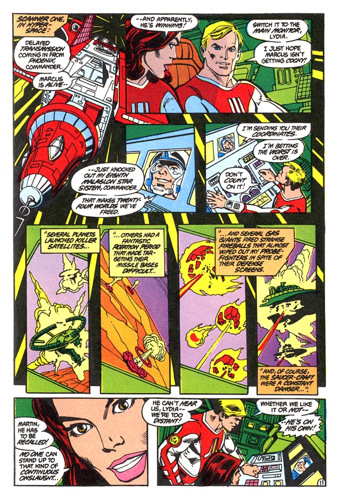 Read online Atari Force (1982) comic -  Issue #4 - 13