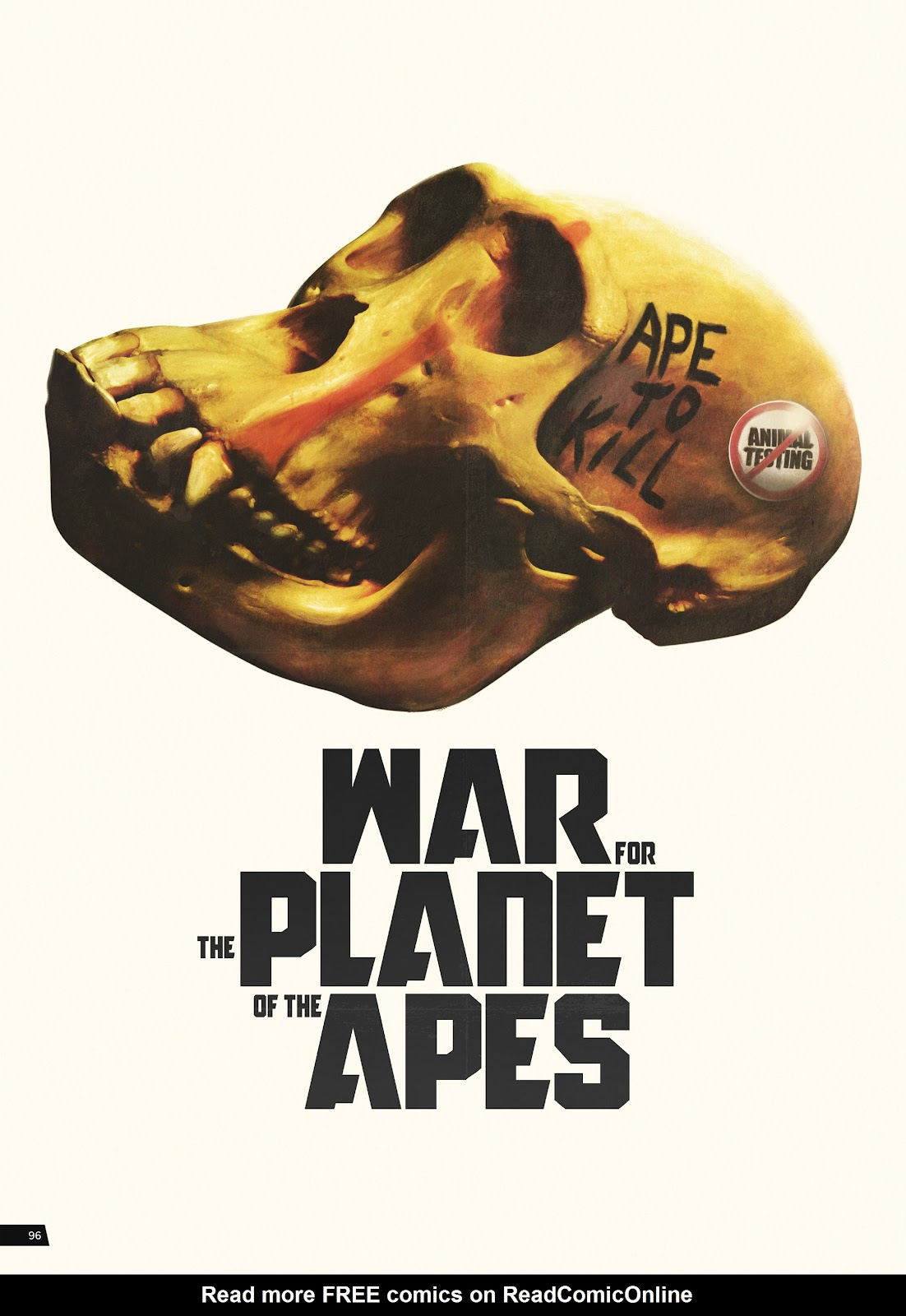 Read online Planet of the Apes Artist Tribute comic -  Issue # TPB - 96