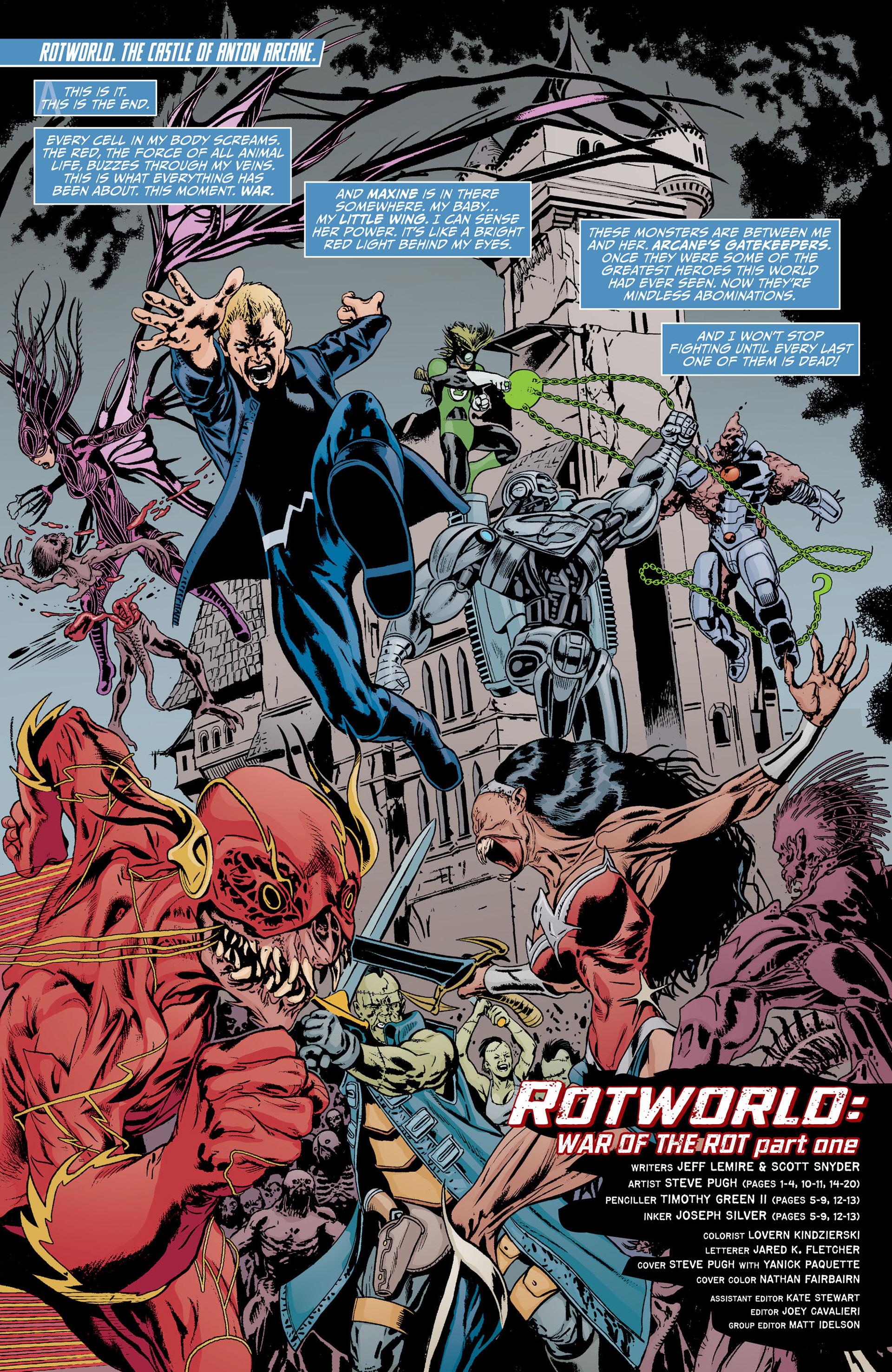 Read online Animal Man (2011) comic -  Issue #17 - 2