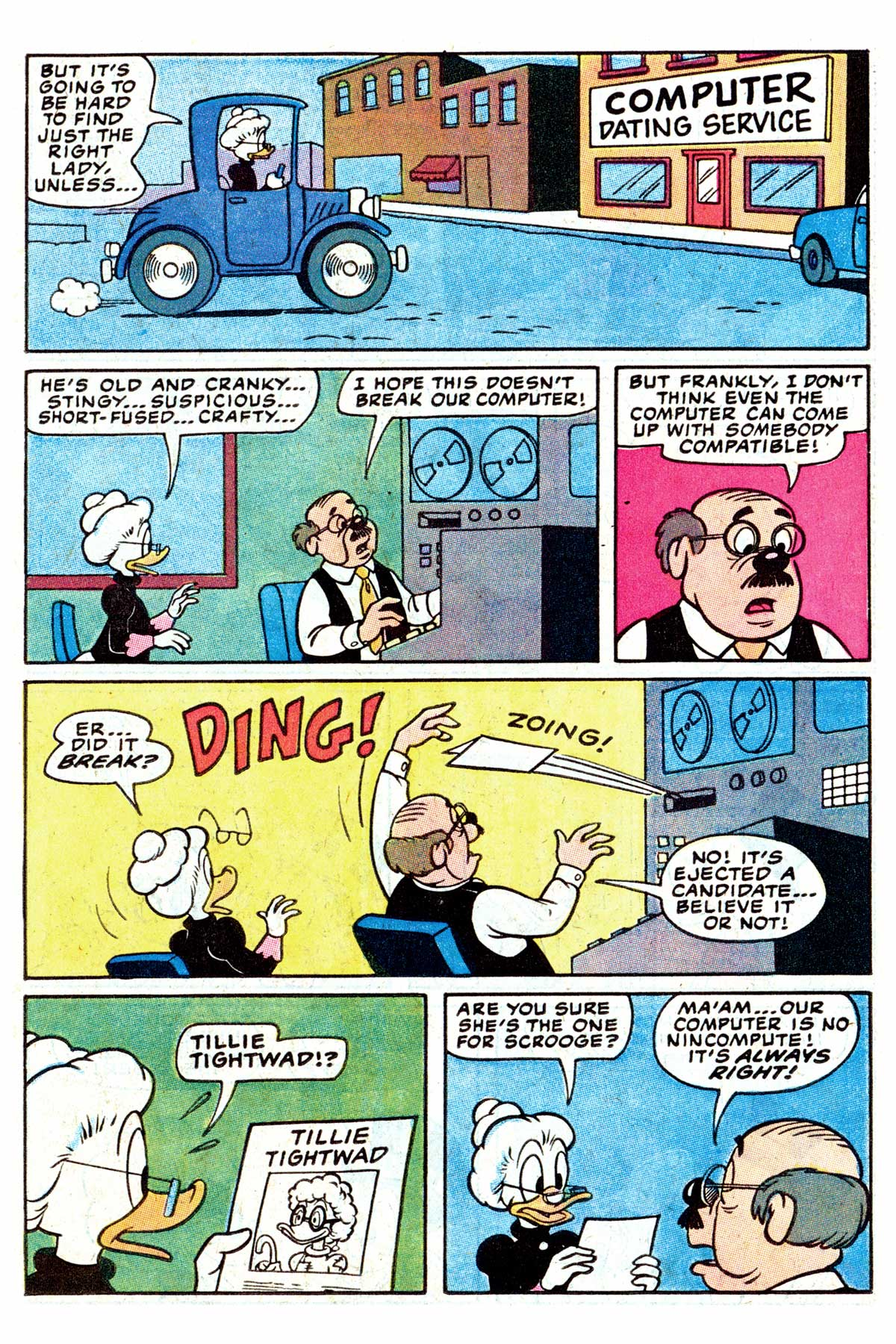 Read online Uncle Scrooge (1953) comic -  Issue #202 - 23