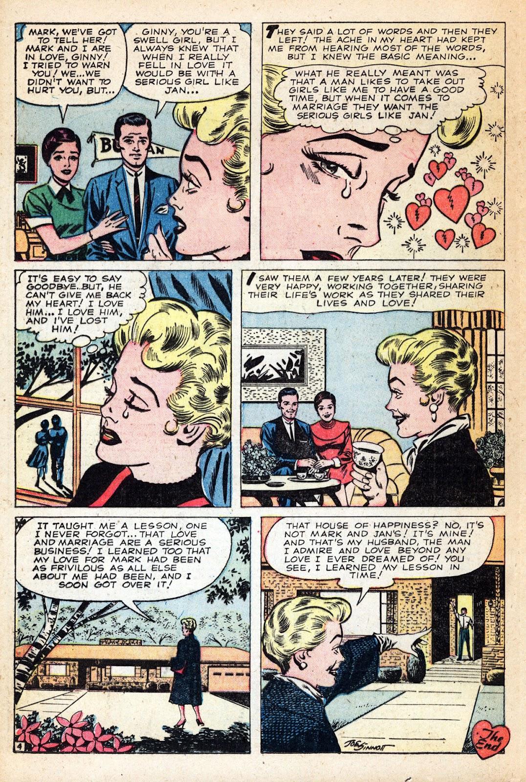 Love Romances (1949) issue 83 - Page 20